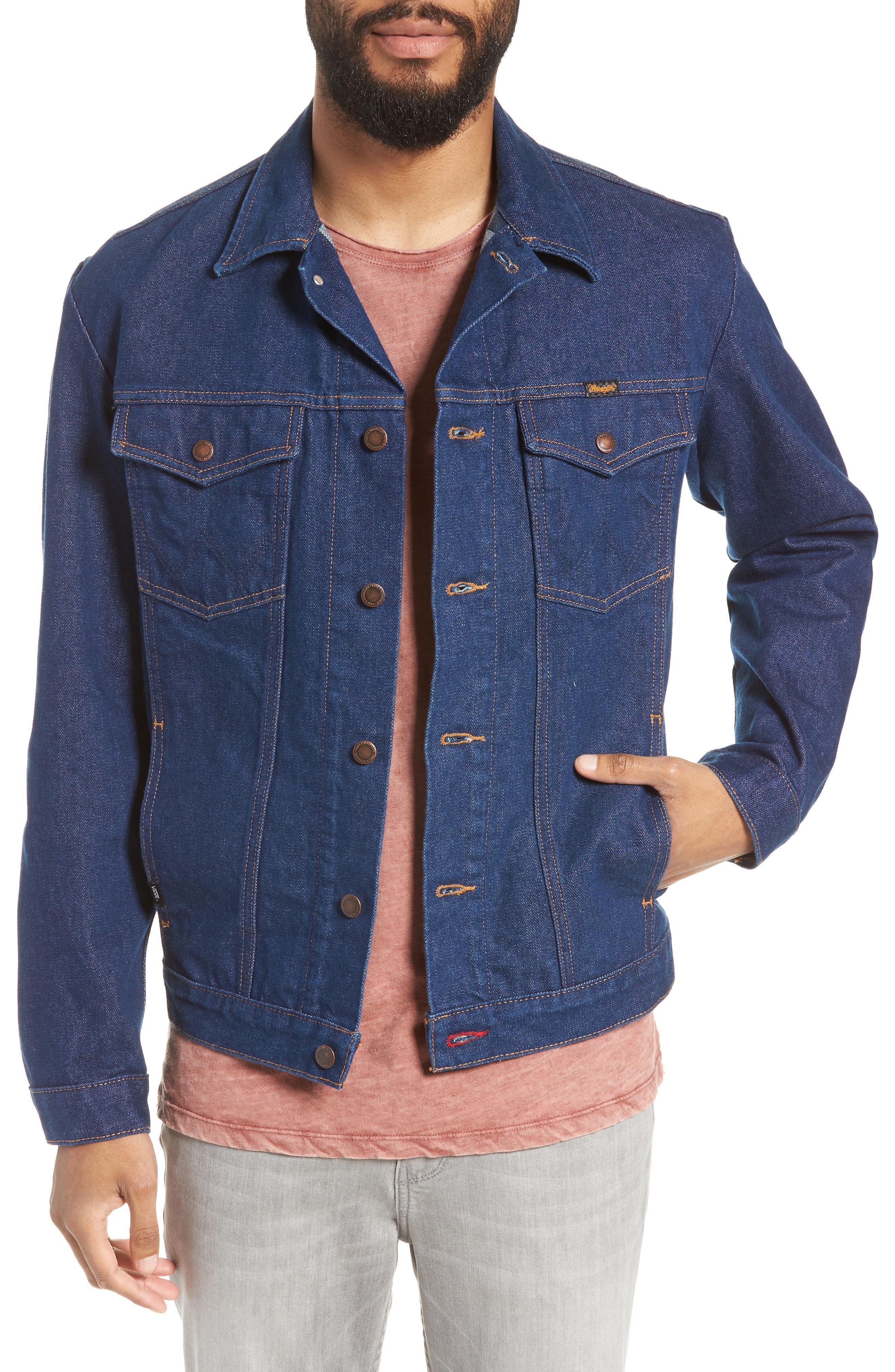 x Wrangler Denim Jacket,                             Main thumbnail 1, color,                             401