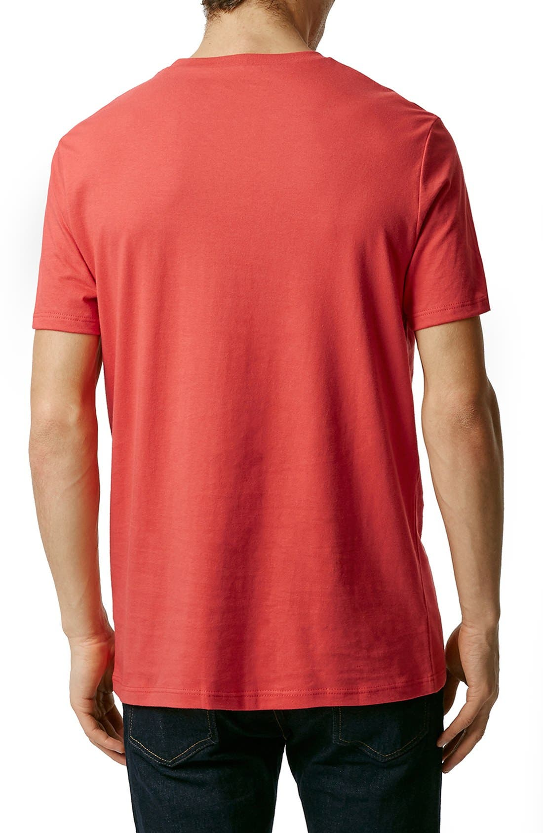 Slim Fit Crewneck T-Shirt,                             Alternate thumbnail 369, color,