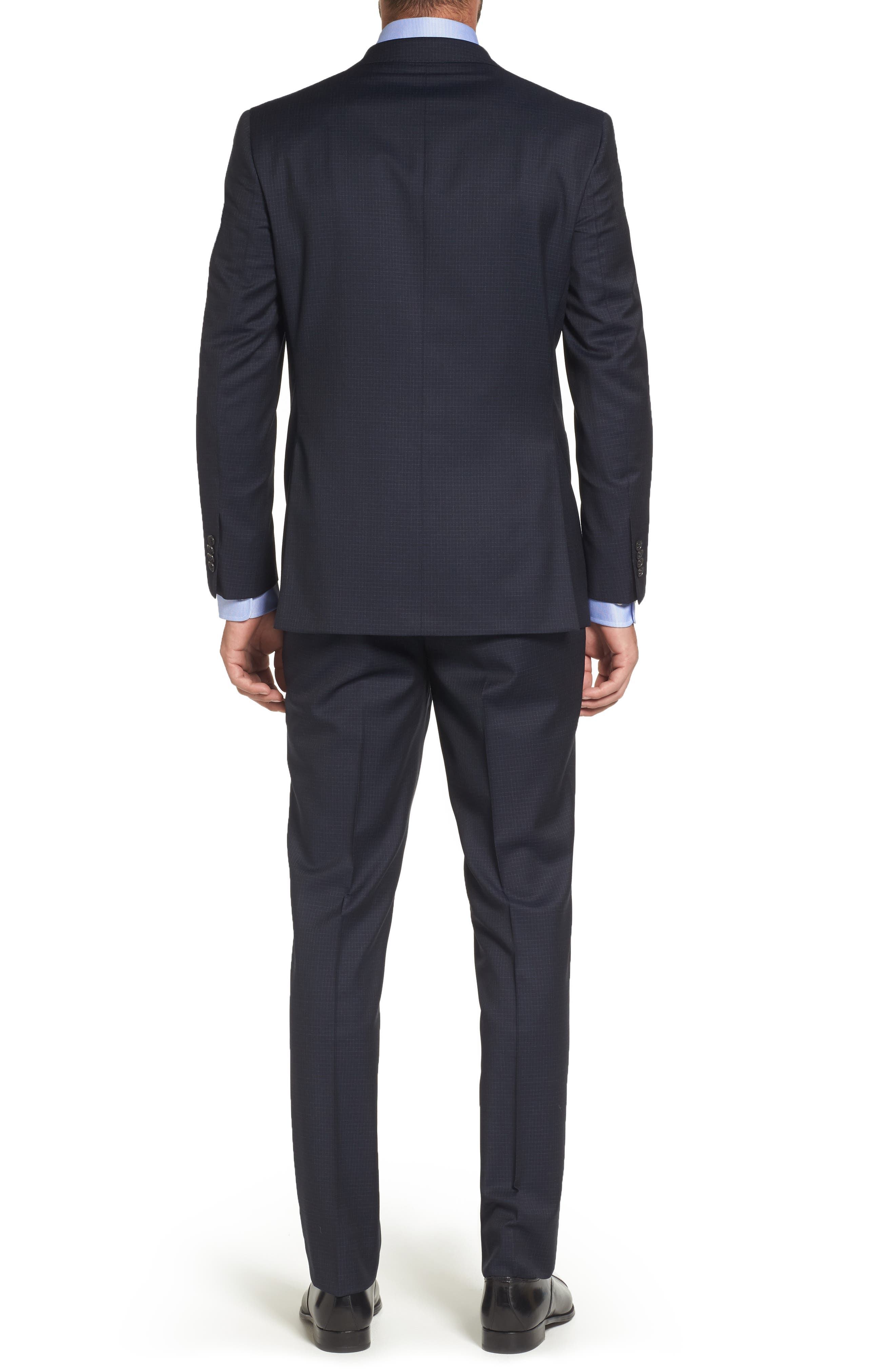 Ryan Classic Fit Check Wool Suit,                             Alternate thumbnail 2, color,                             410