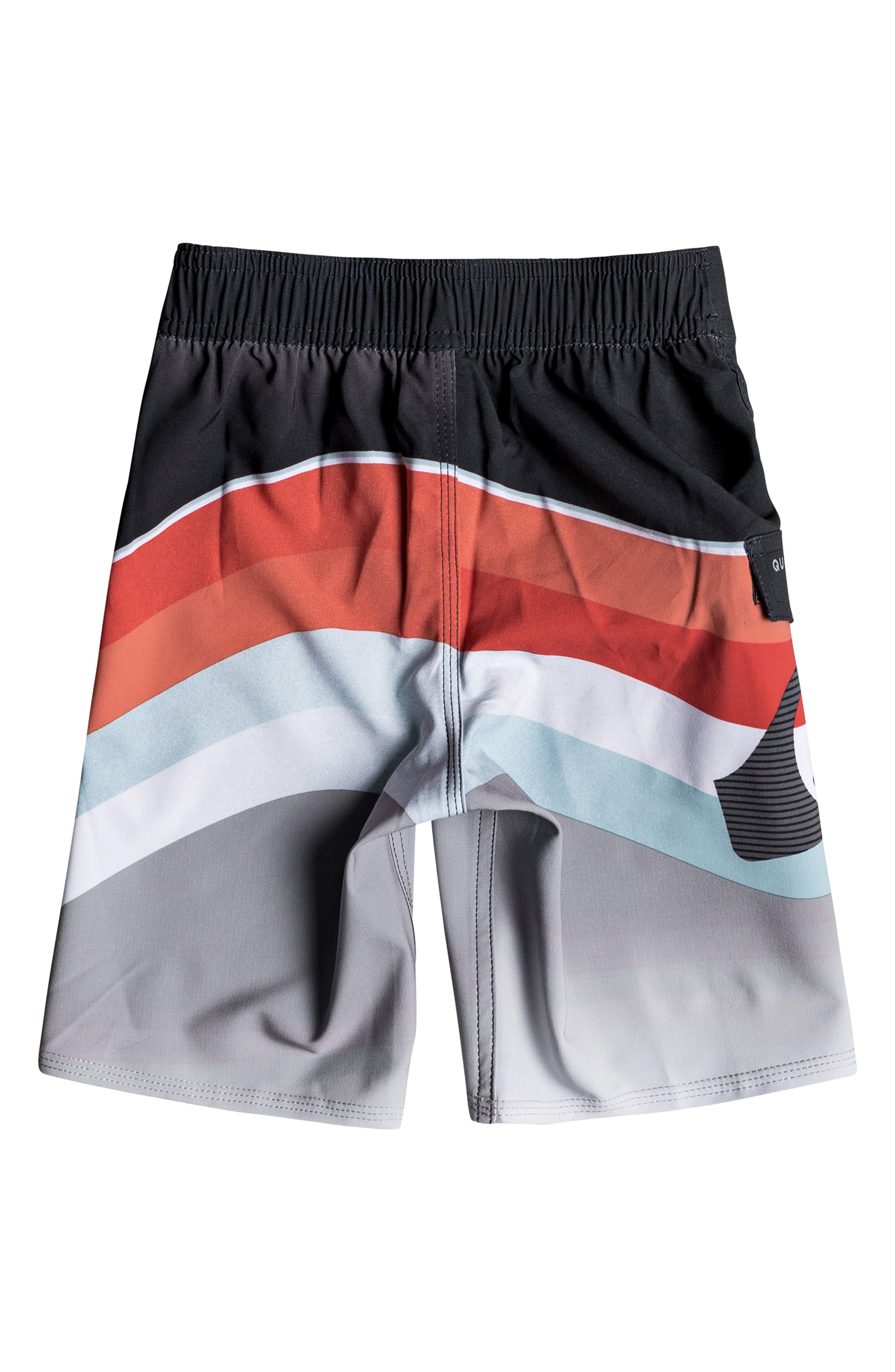 Highline Slab Print Board Shorts,                             Alternate thumbnail 2, color,                             FLAME