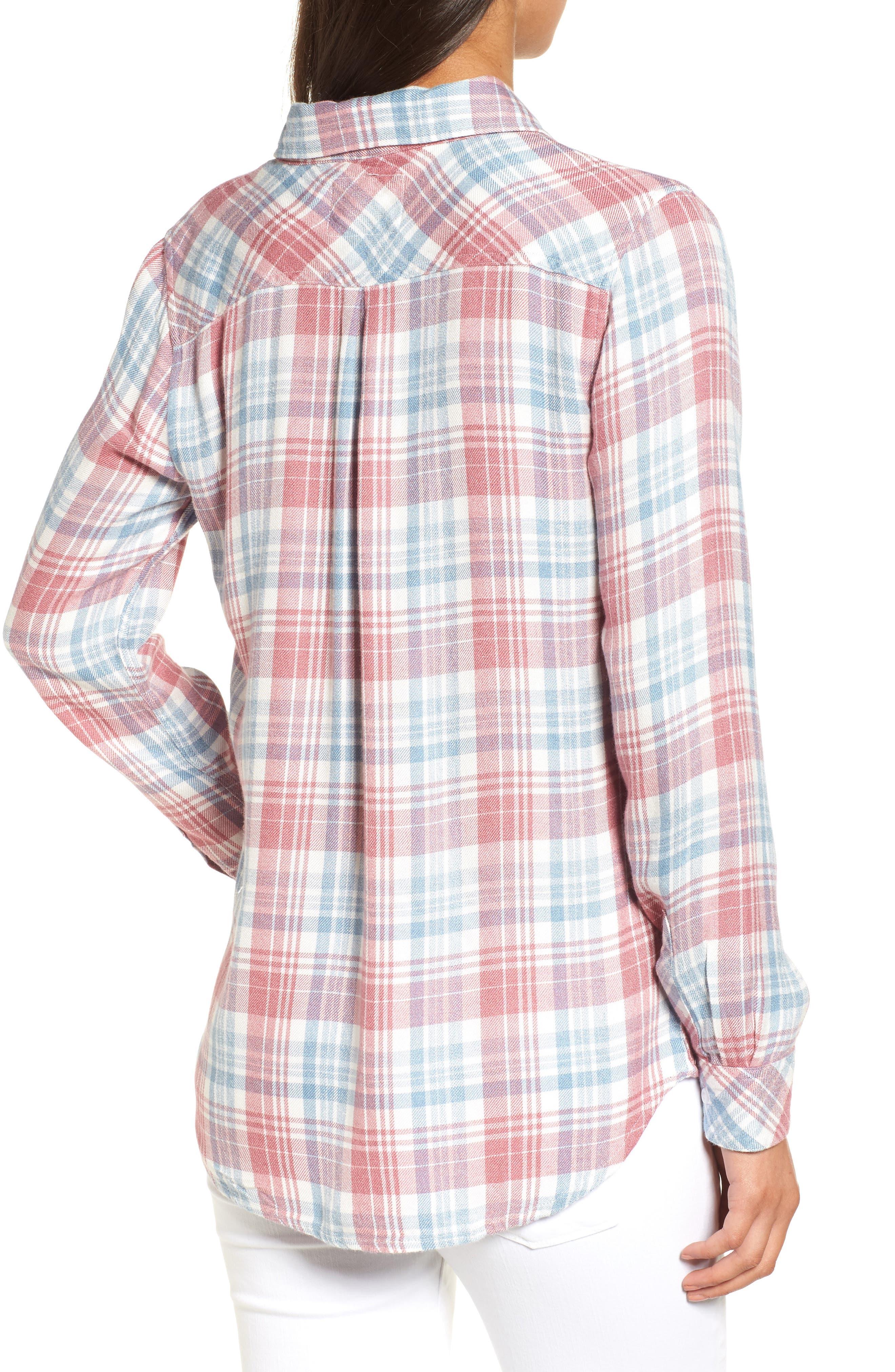 Hunter Plaid Shirt,                             Alternate thumbnail 269, color,