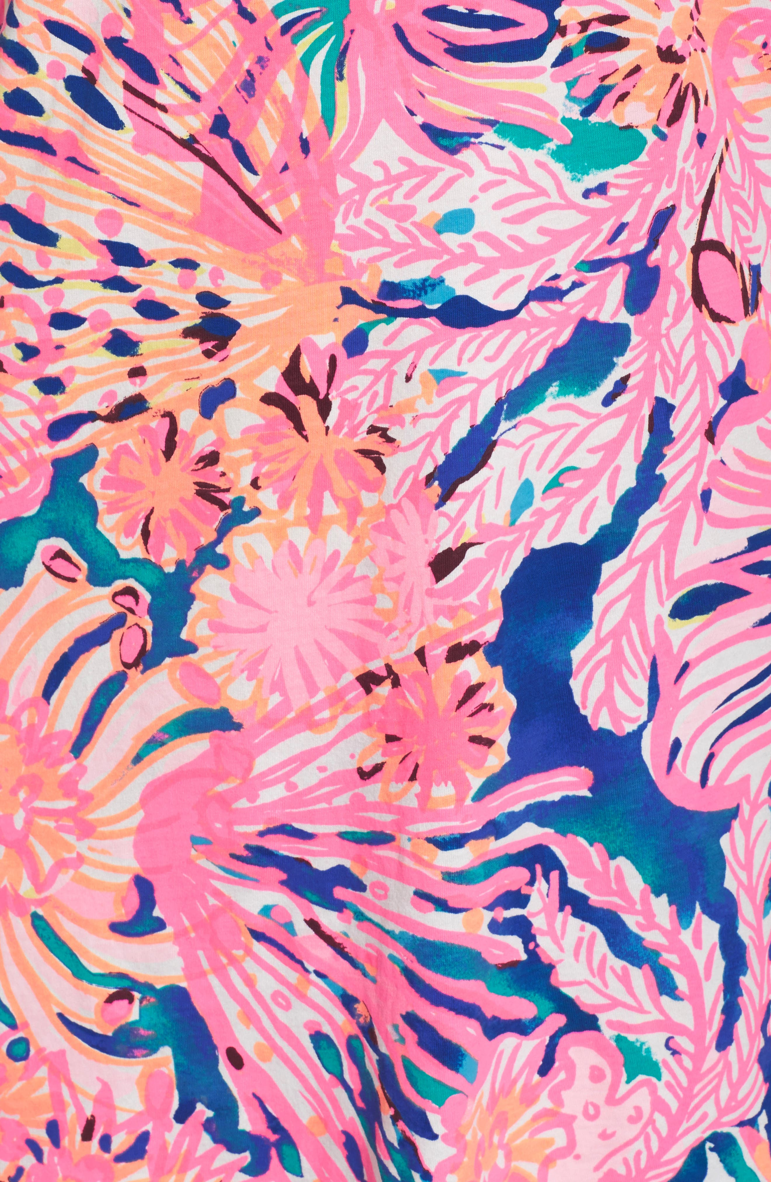 Preston Shift Dress,                             Alternate thumbnail 6, color,                             999