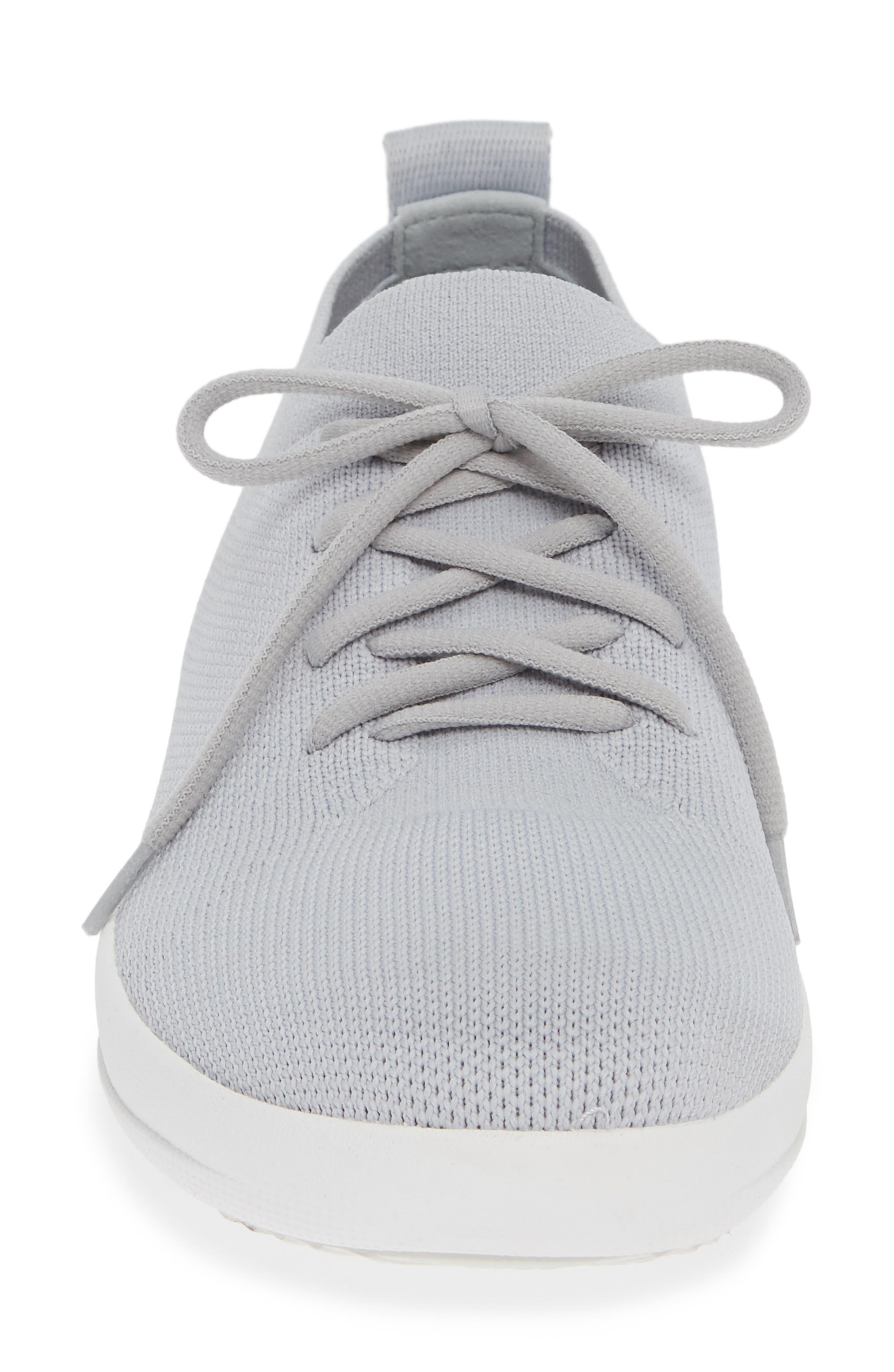 F-Sporty Uberknit<sup>™</sup> Sneaker,                             Alternate thumbnail 4, color,                             PEARL FABRIC