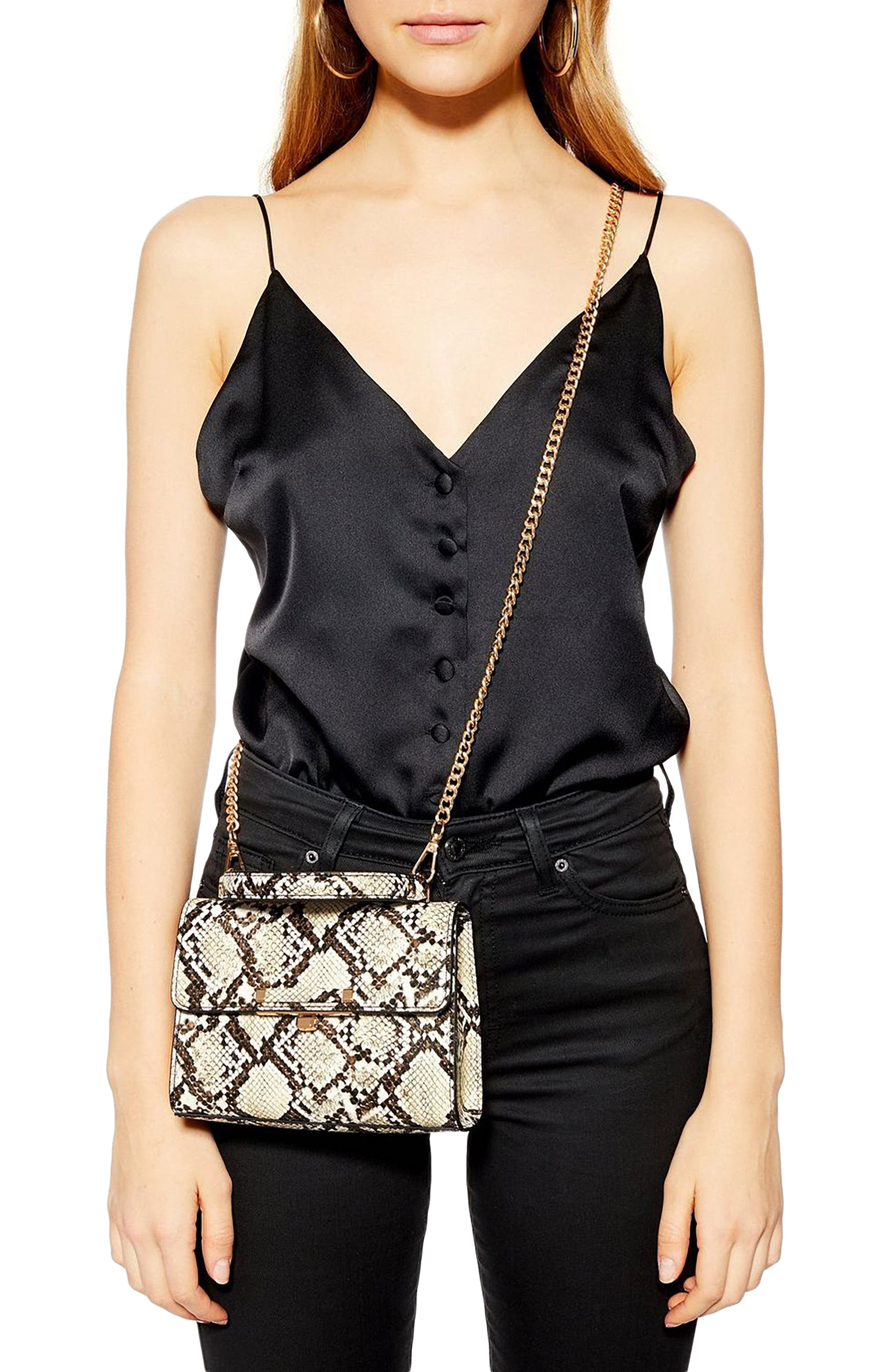 Mini Marissa Snake Embossed Top Handle Bag,                             Alternate thumbnail 2, color,                             250