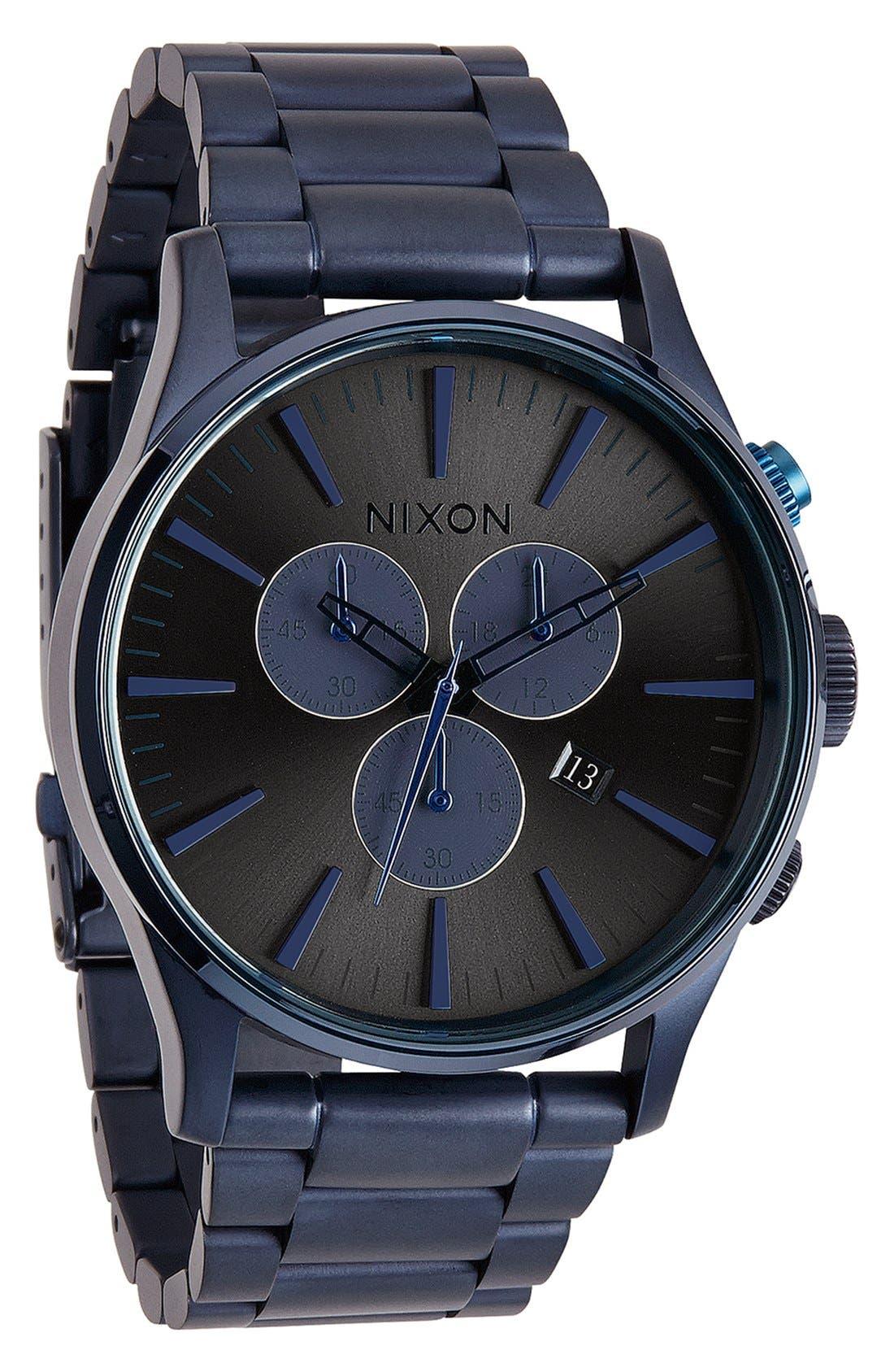'The Sentry' Chronograph Bracelet Watch, 42mm,                             Alternate thumbnail 32, color,