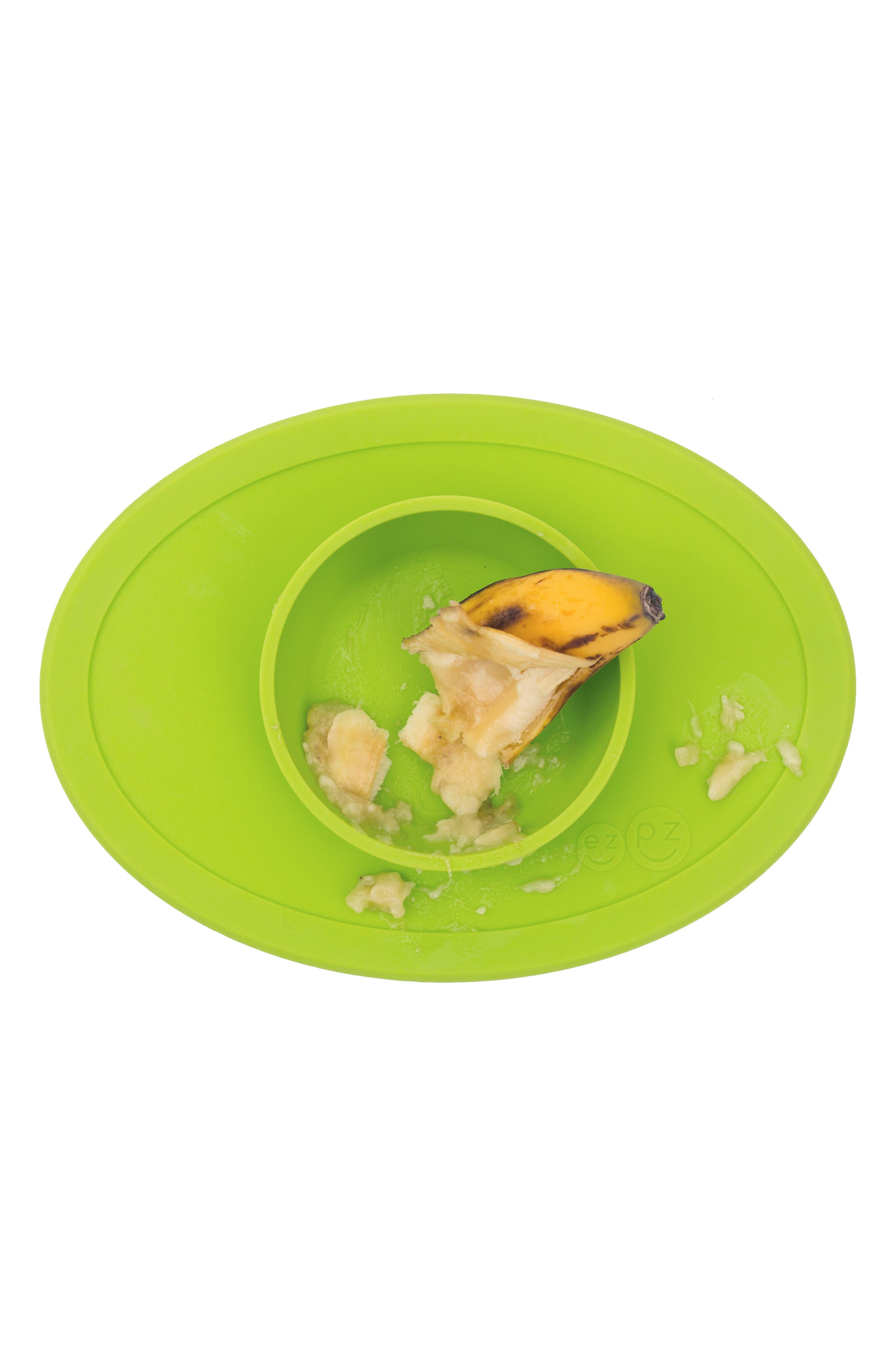 Tiny Bowl Silicone Feeding Mat,                             Alternate thumbnail 2, color,                             LIME