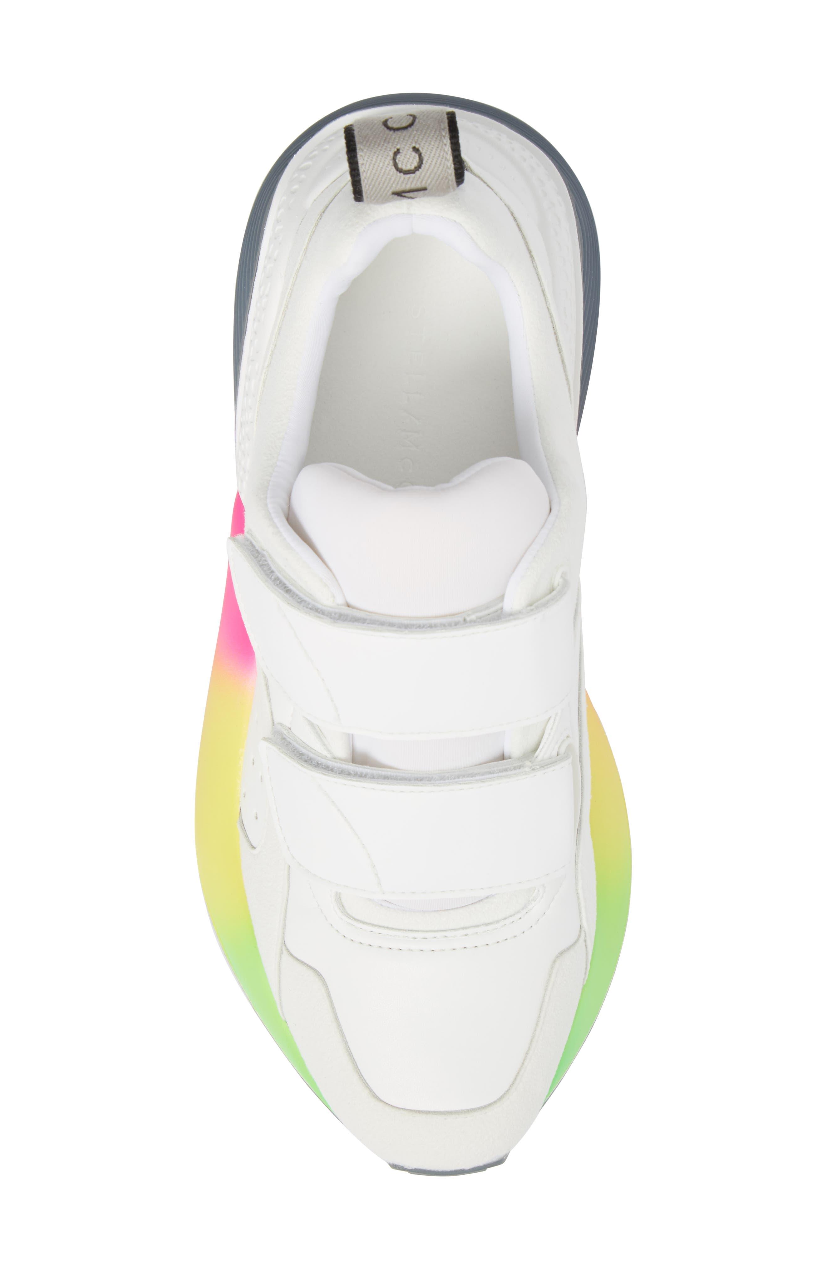 Gradient Sole Sneaker,                             Alternate thumbnail 5, color,                             WHITE