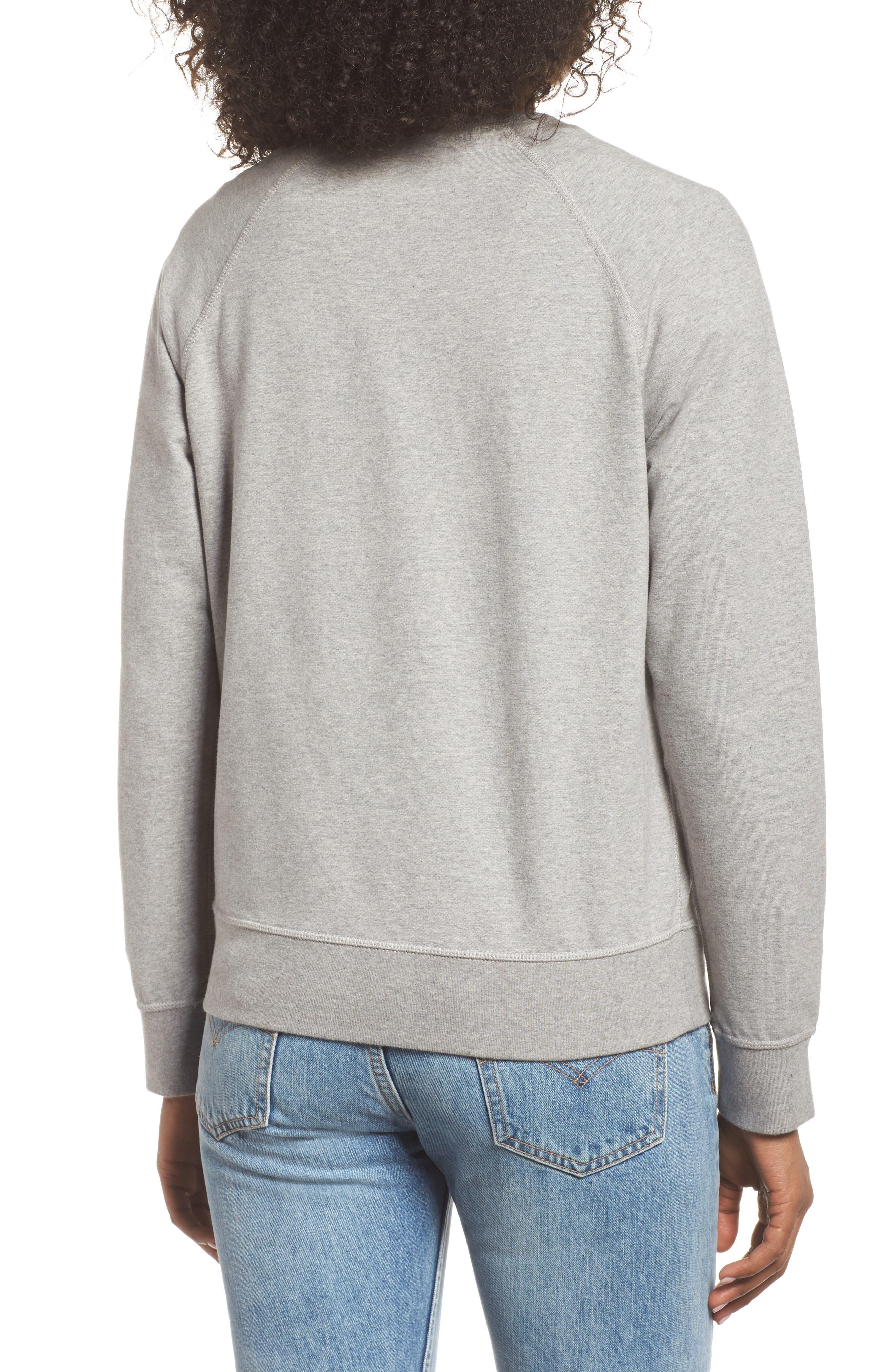 Pastel P-6 Label Midweight Sweatshirt,                             Alternate thumbnail 2, color,                             020
