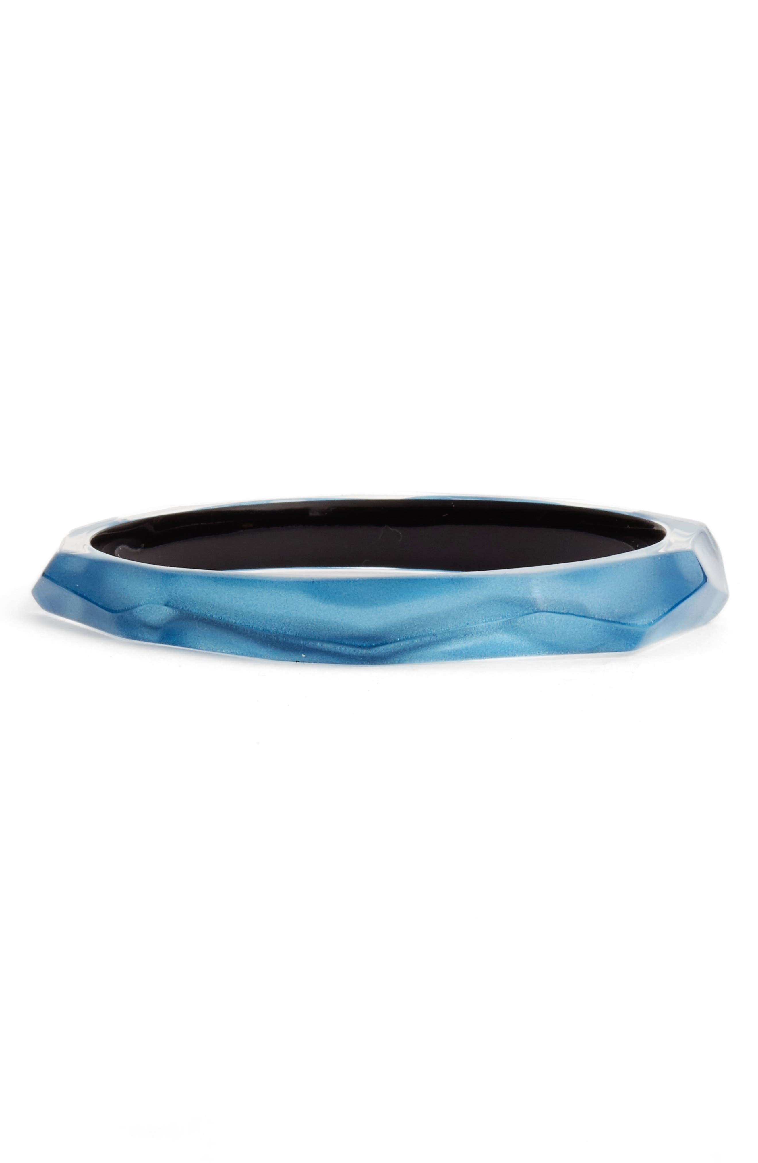 Faceted Lucite<sup>®</sup> Bangle,                             Main thumbnail 4, color,