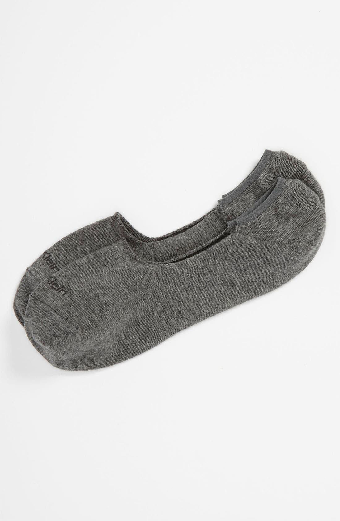 No-Show Socks,                         Main,                         color, GREY HEATHER