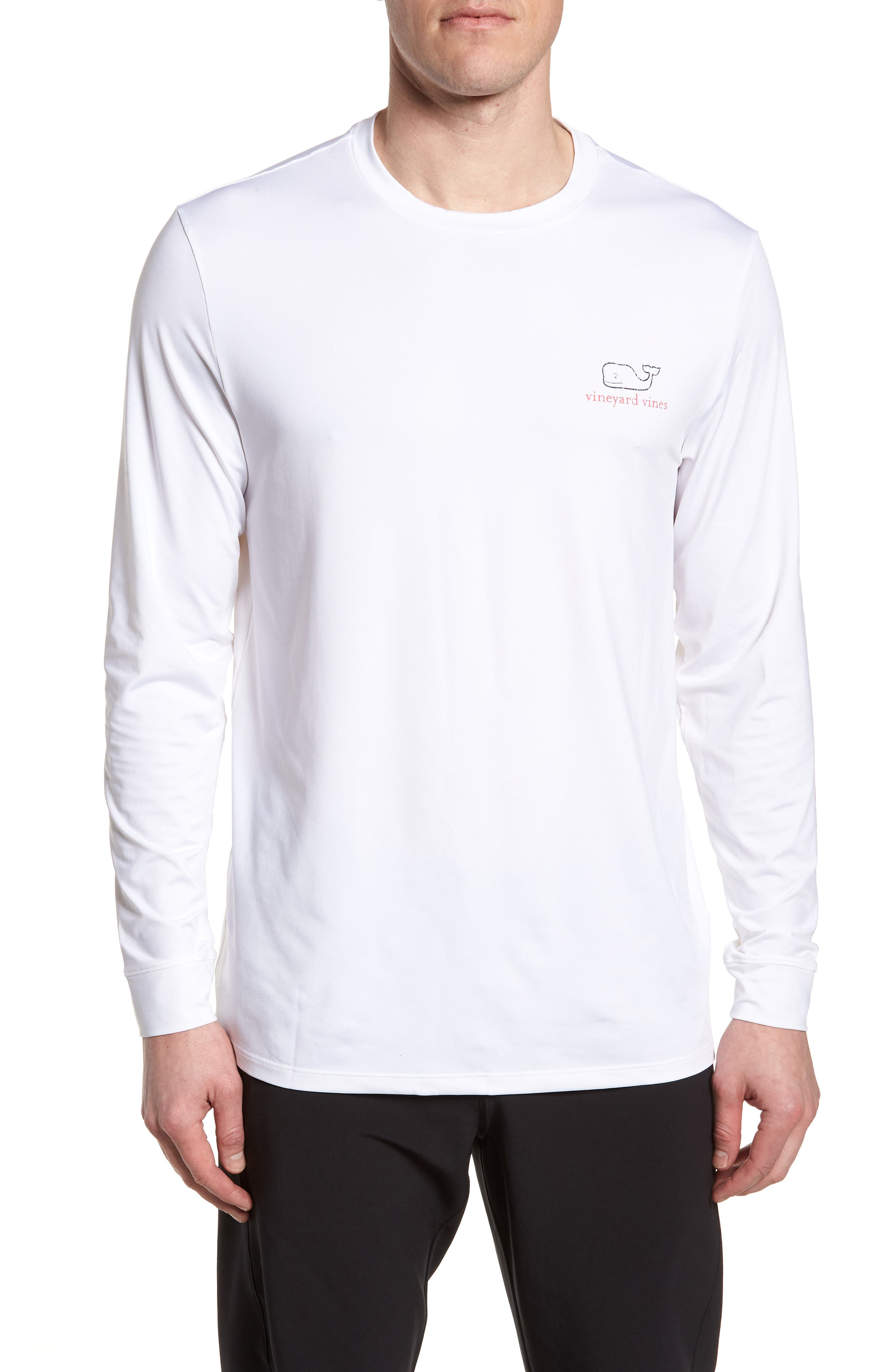 Vintage Whale Performance T-Shirt,                             Main thumbnail 1, color,                             100