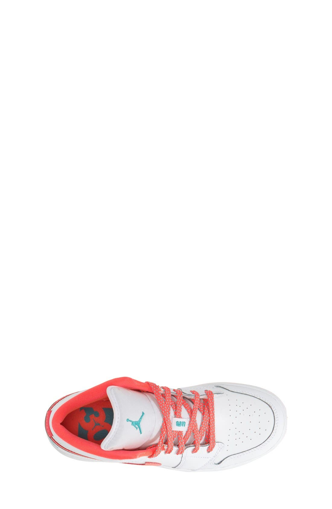 Nike 'Jordan 1 Low' Basketball Shoe,                             Alternate thumbnail 4, color,