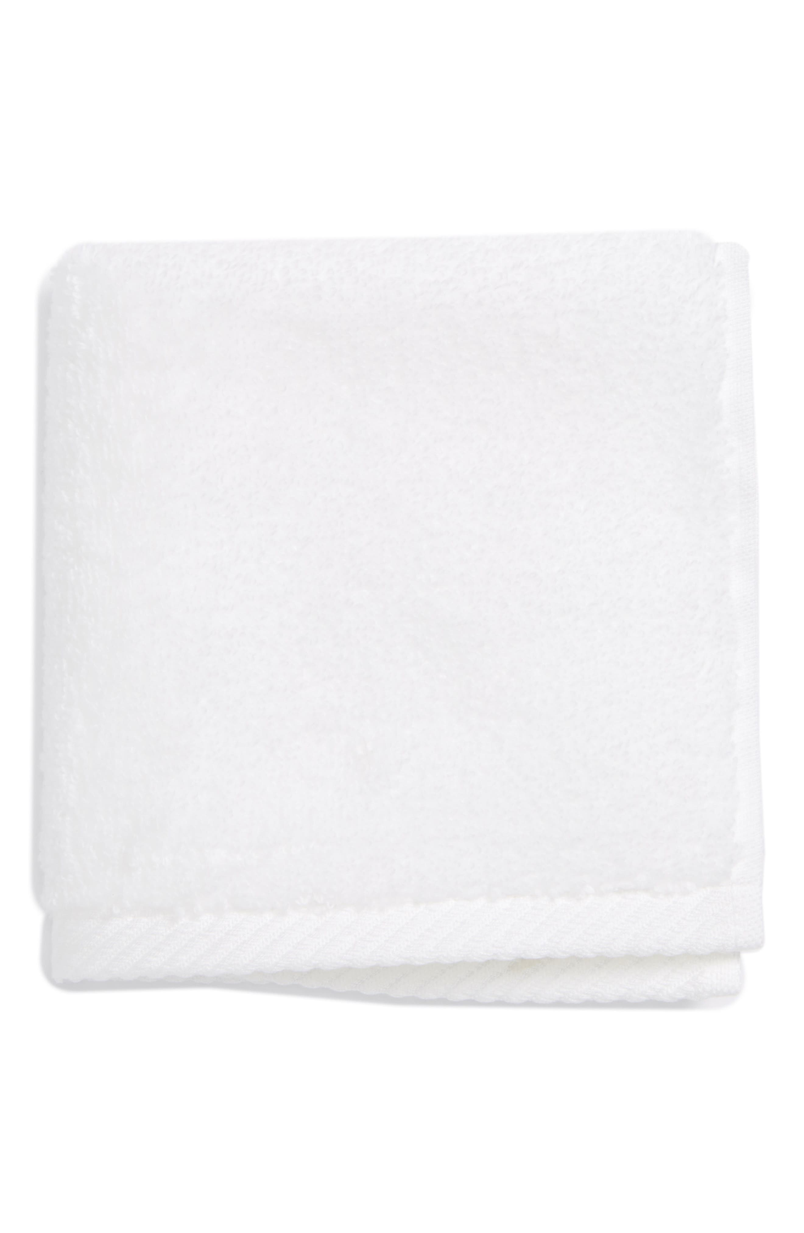 Milagro Washcloth,                         Main,                         color, WHITE