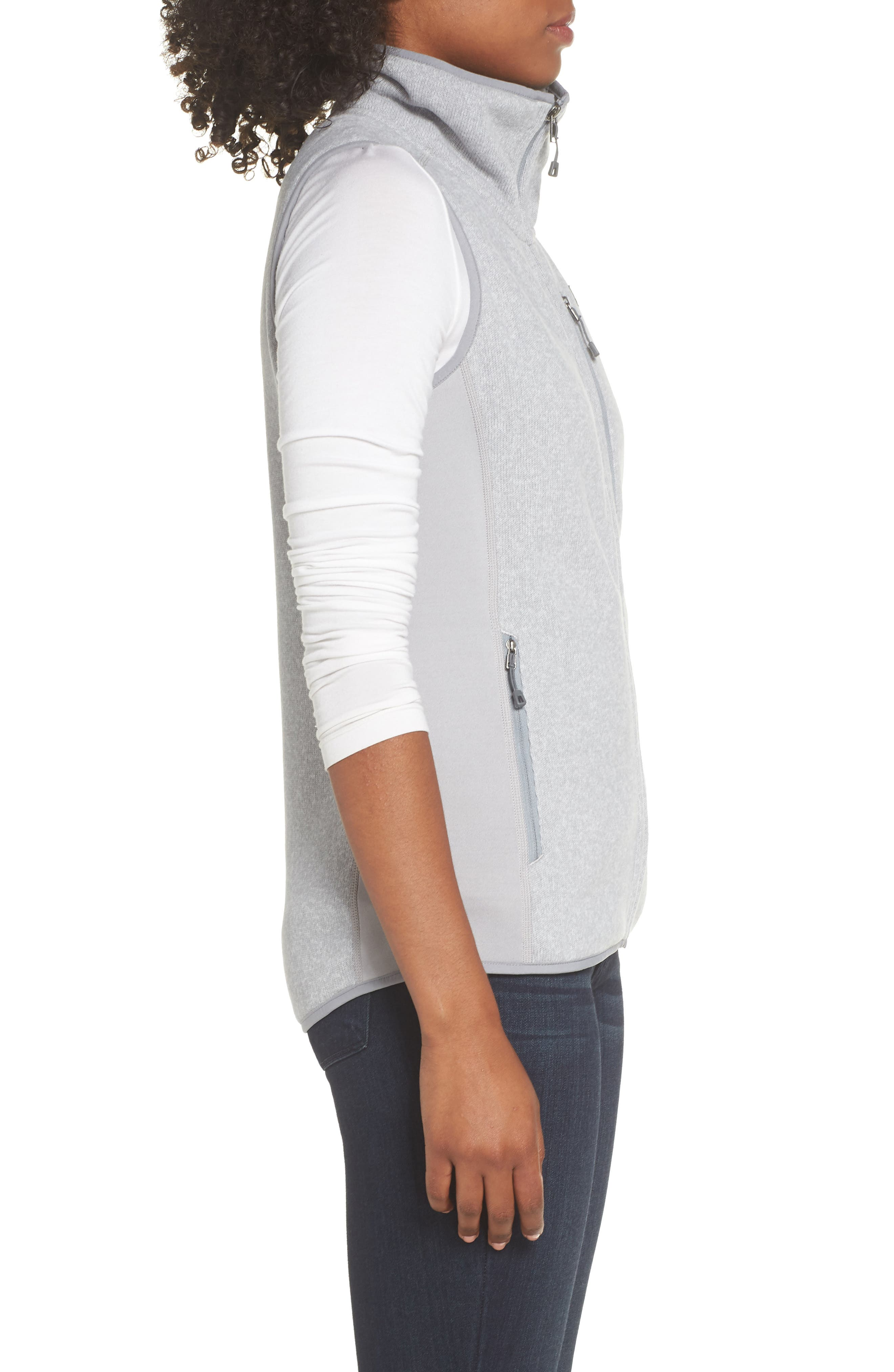 Performance Better Sweater Vest,                             Alternate thumbnail 3, color,                             DRIFTER GREY
