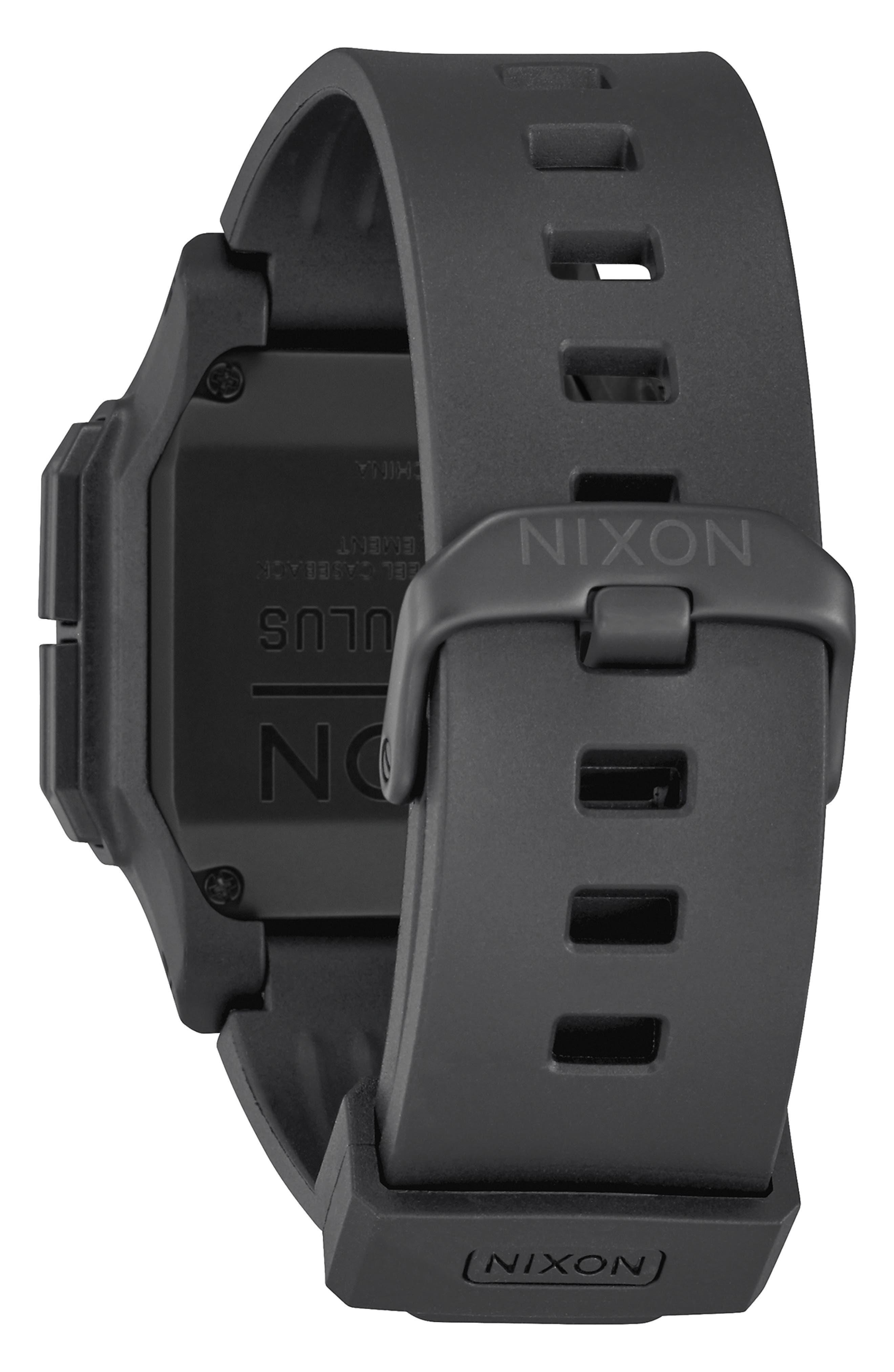 Regulus Digital Watch, 46mm,                             Alternate thumbnail 2, color,                             BLACK
