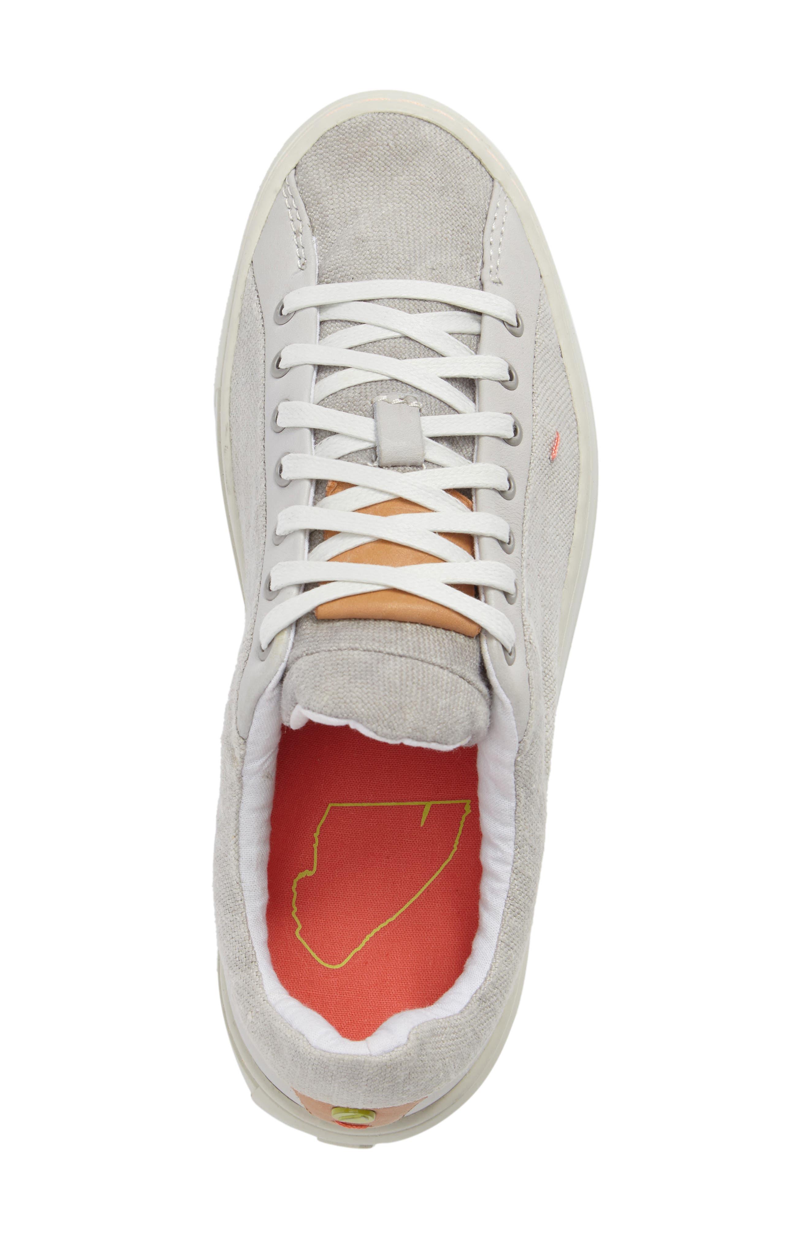 Somerville Sneaker,                             Alternate thumbnail 5, color,                             CONCRETE FABRIC