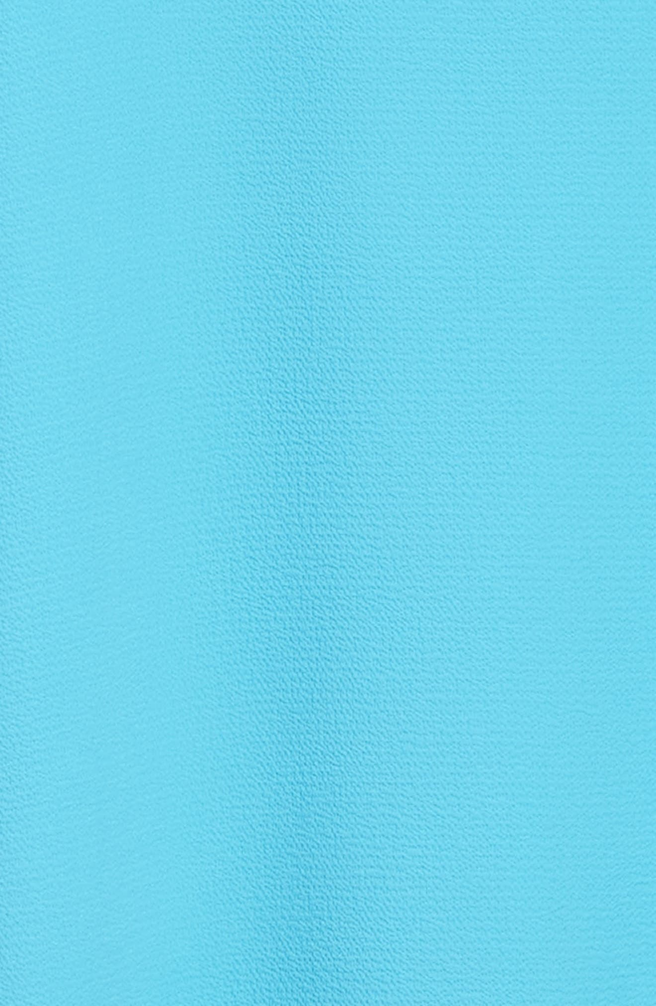 Ruffle Trapeze Dress,                             Alternate thumbnail 3, color,                             430