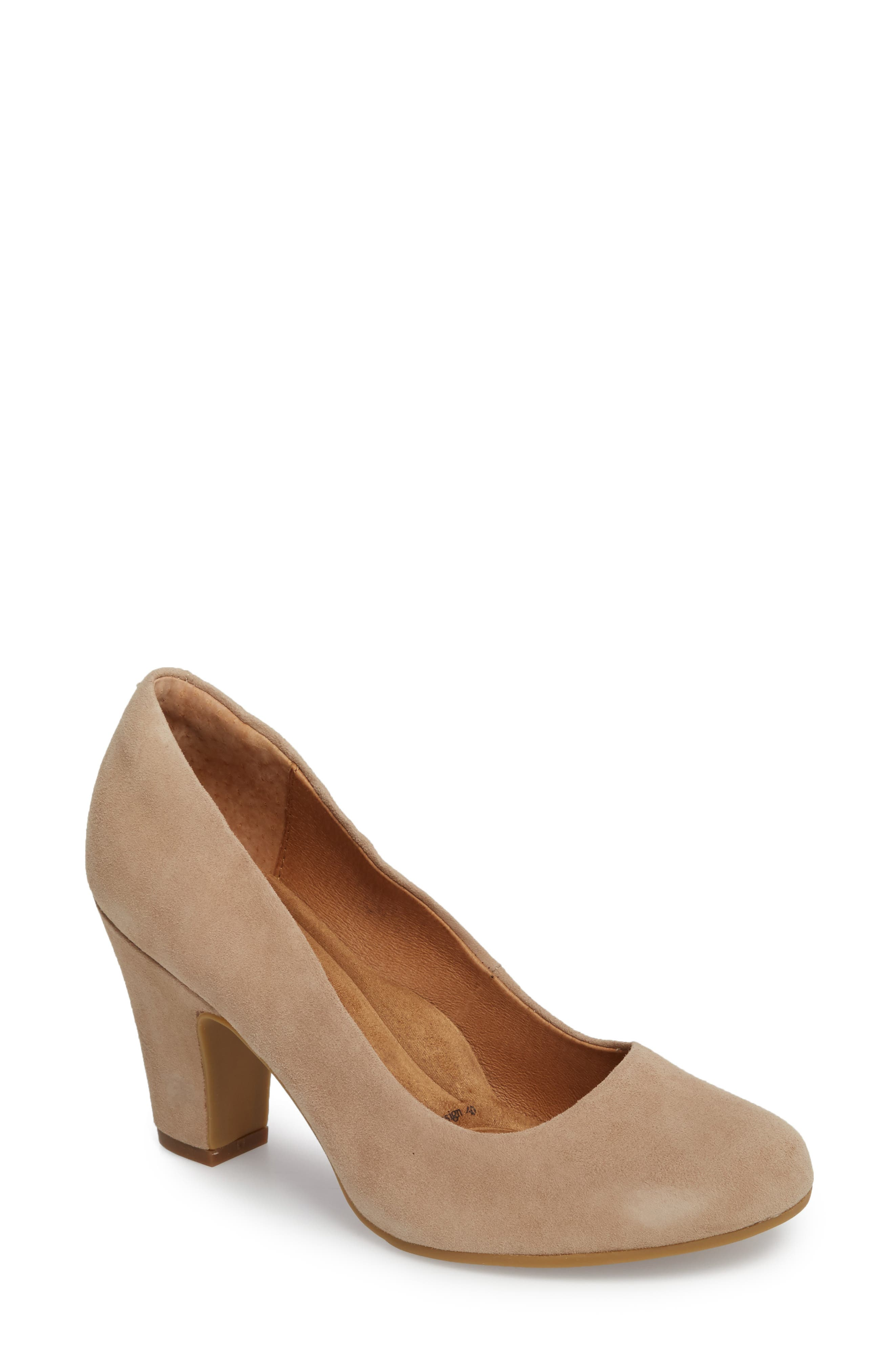 Madina Pump,                         Main,                         color, BAYWATER SUEDE