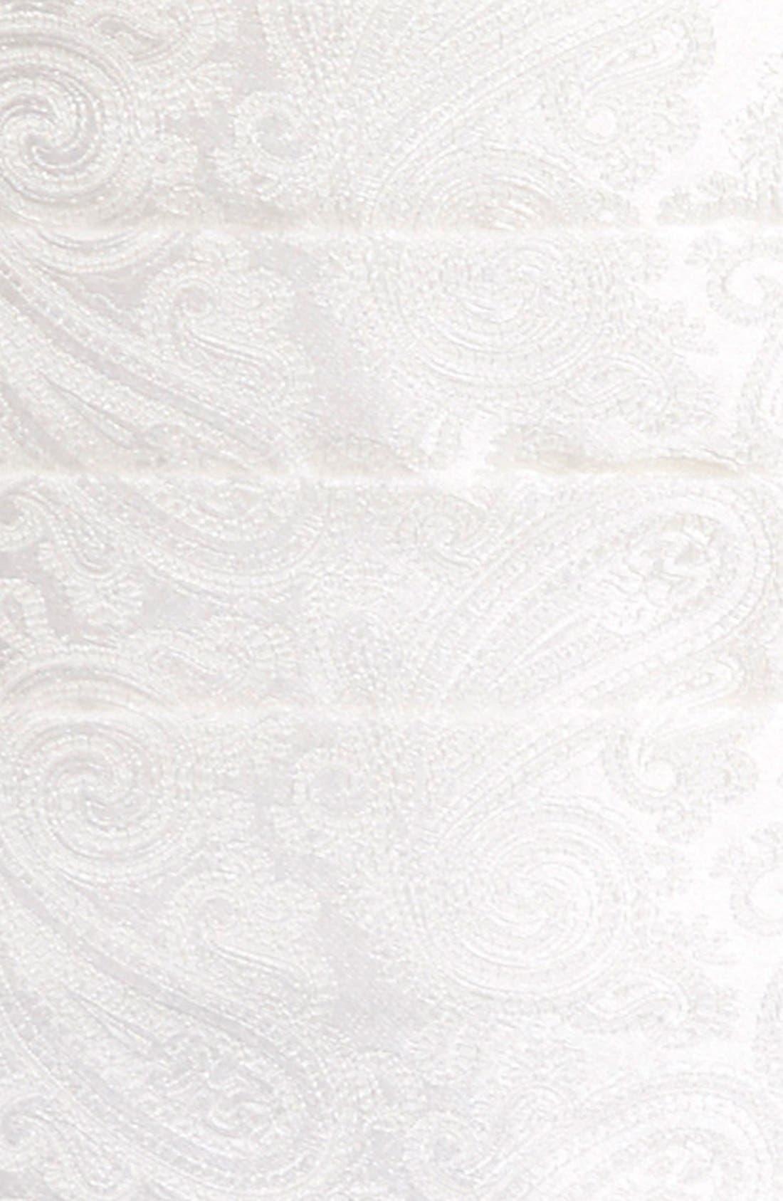 'Protocol' Paisley Silk Cummerbund & Bow Tie Set,                             Alternate thumbnail 5, color,