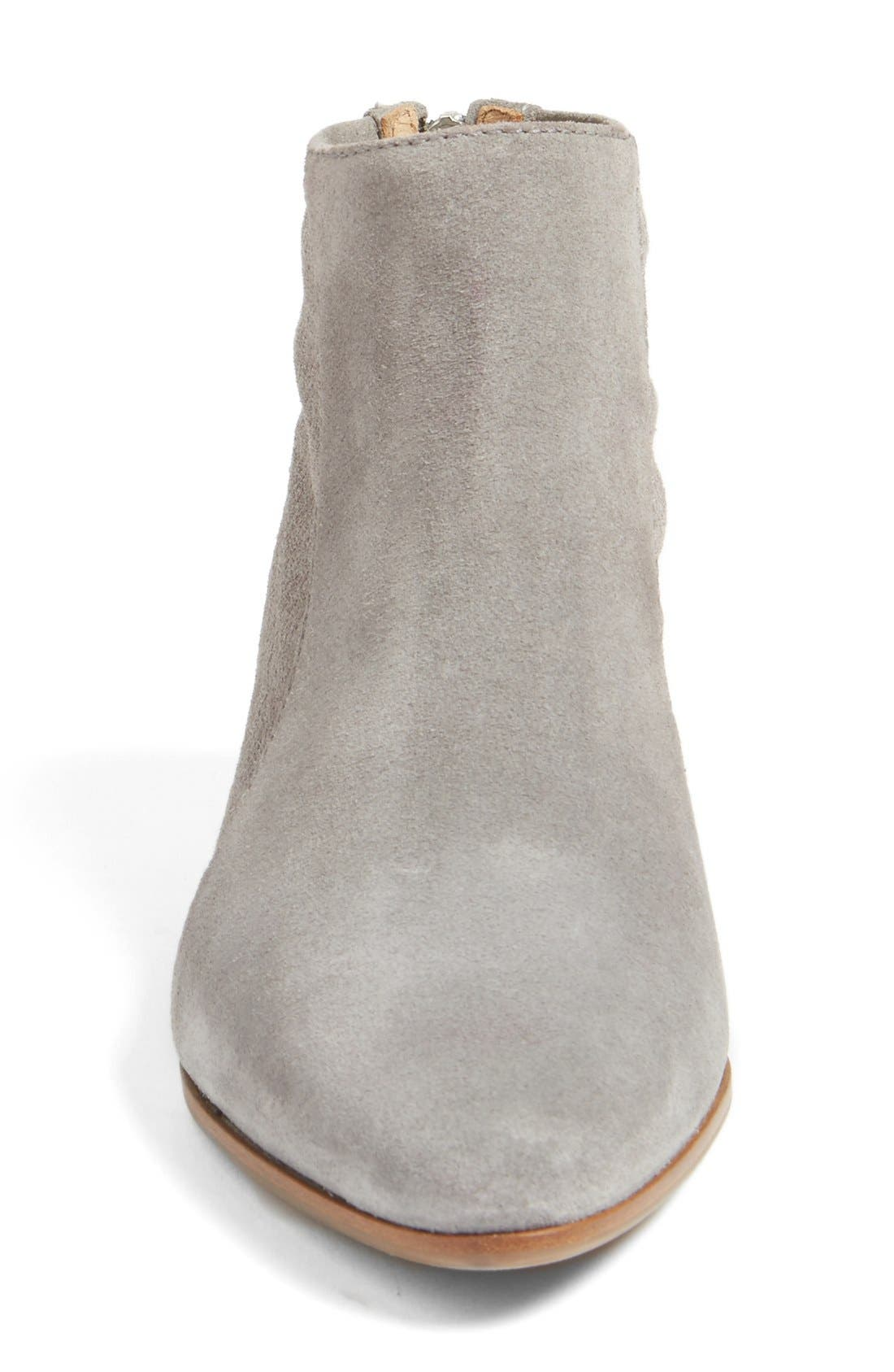 Fianna Perforated Bootie,                             Alternate thumbnail 5, color,