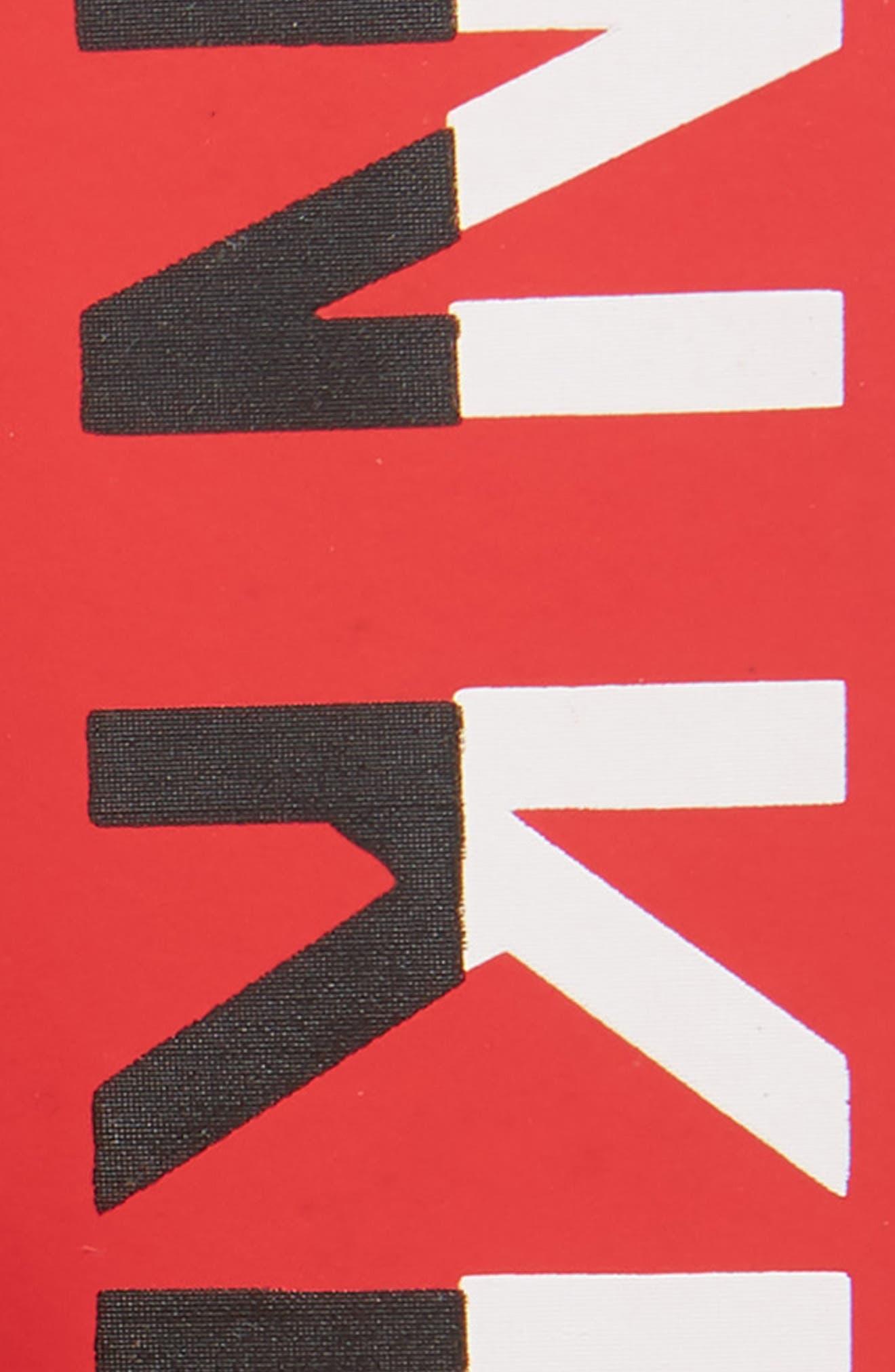 Logo Leather Belt,                             Alternate thumbnail 2, color,                             TOMATO