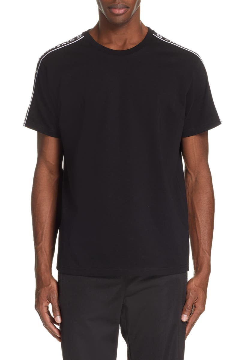 Givenchy Cottons Logo Tape T-Shirt