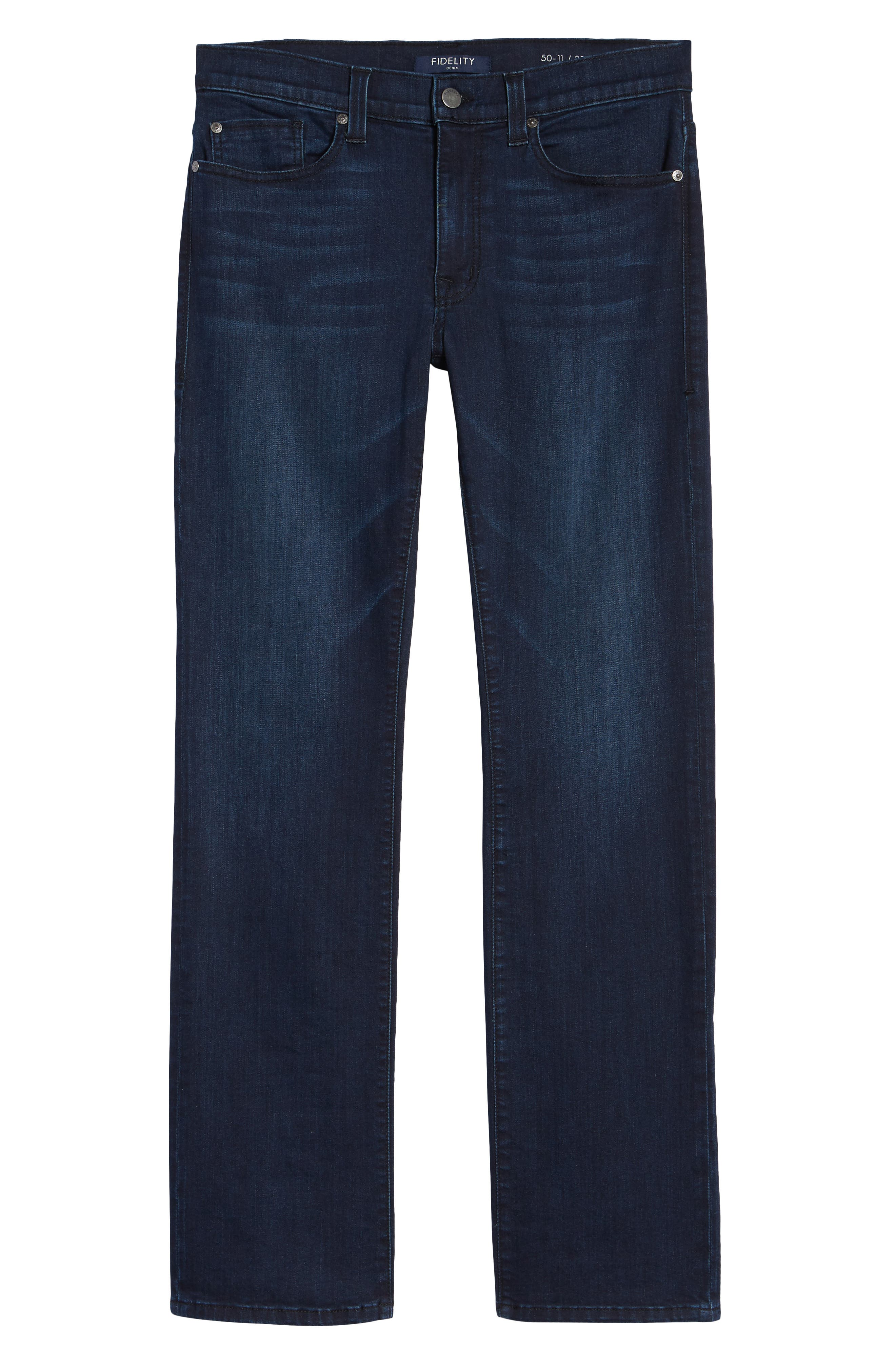 50-11 Relaxed Fit Jeans,                             Alternate thumbnail 6, color,                             HENDRIX