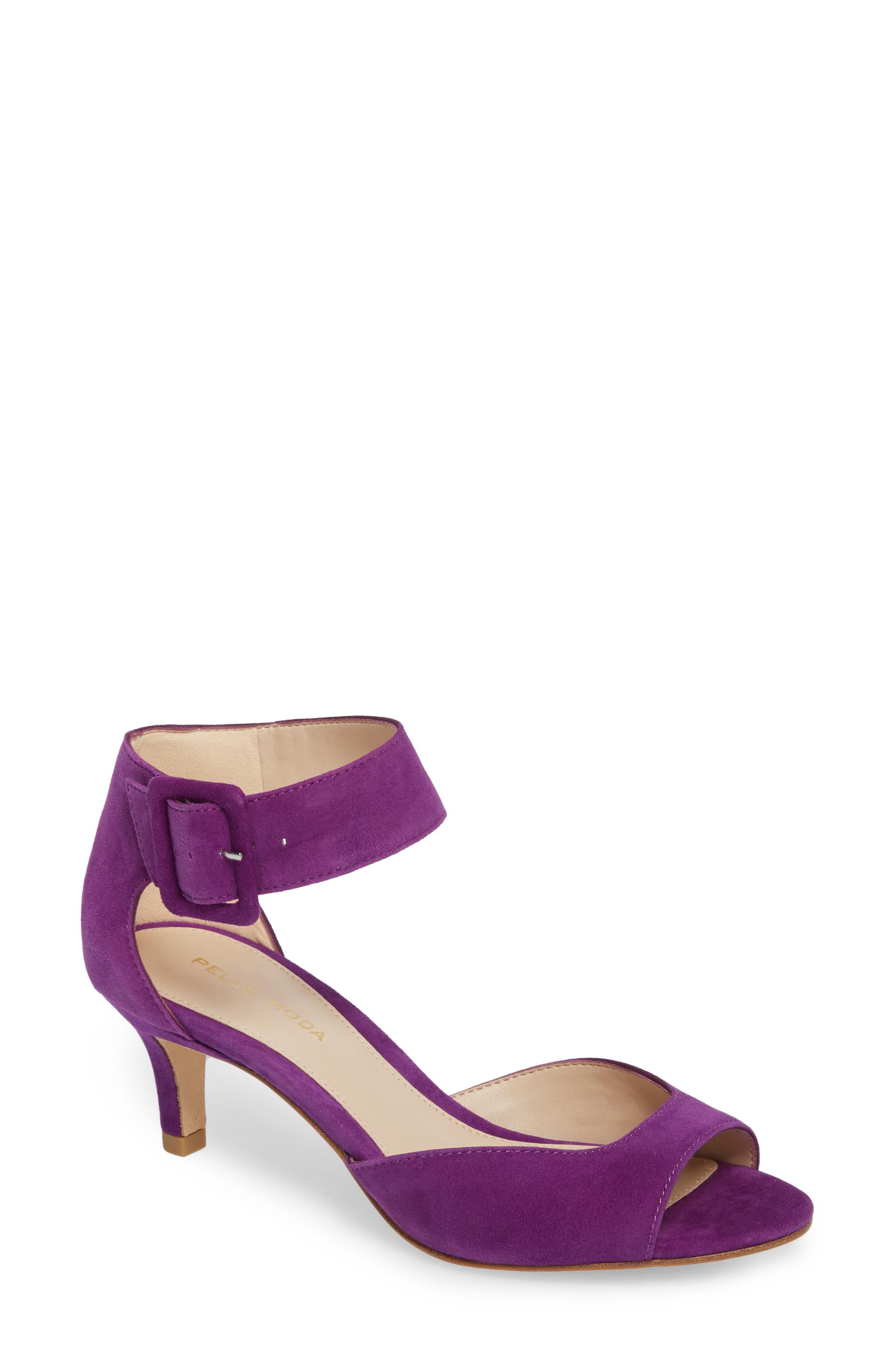 'Berlin' Ankle Strap Sandal,                             Main thumbnail 4, color,