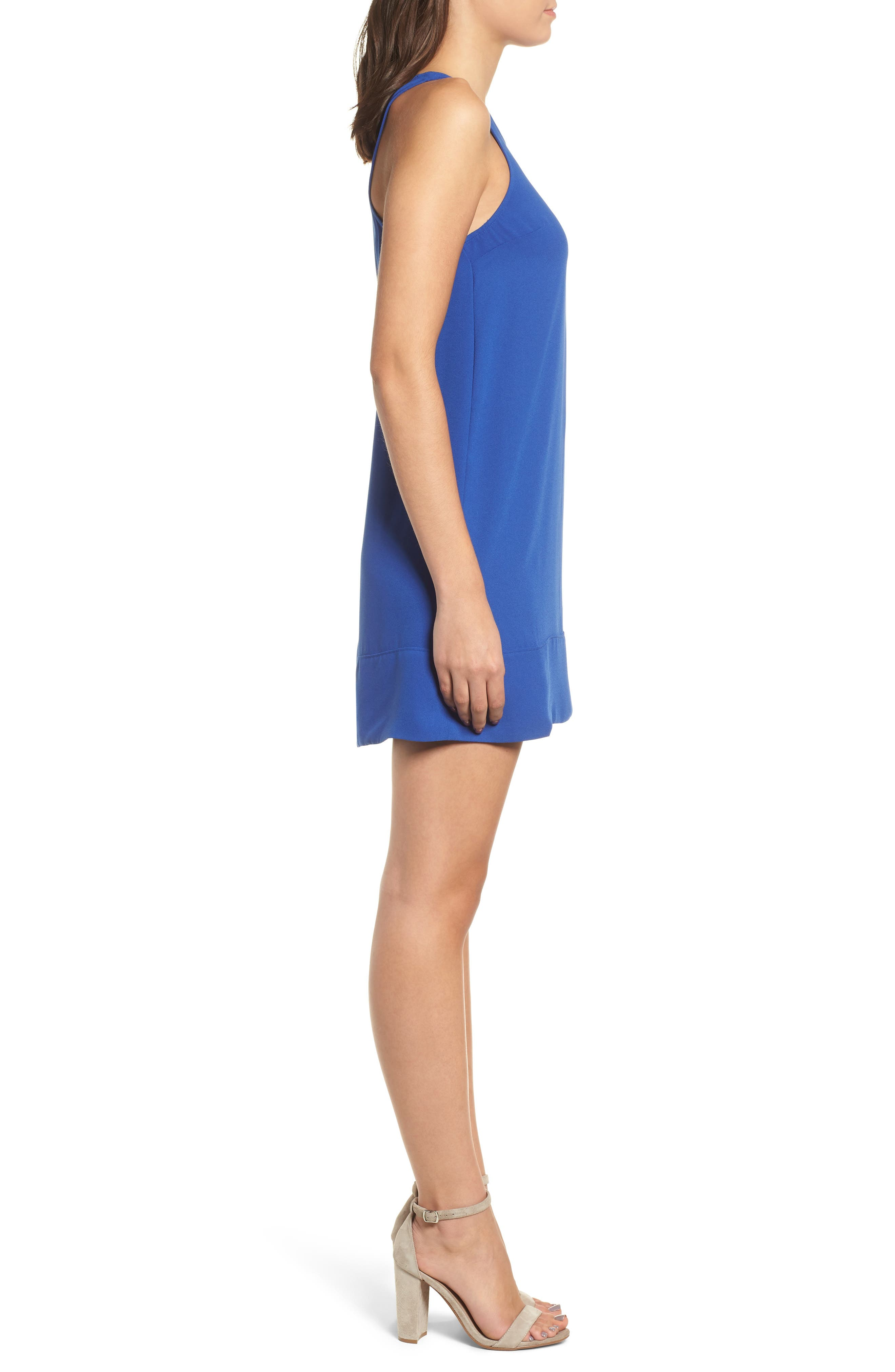 Racerback Shift Dress,                             Alternate thumbnail 92, color,