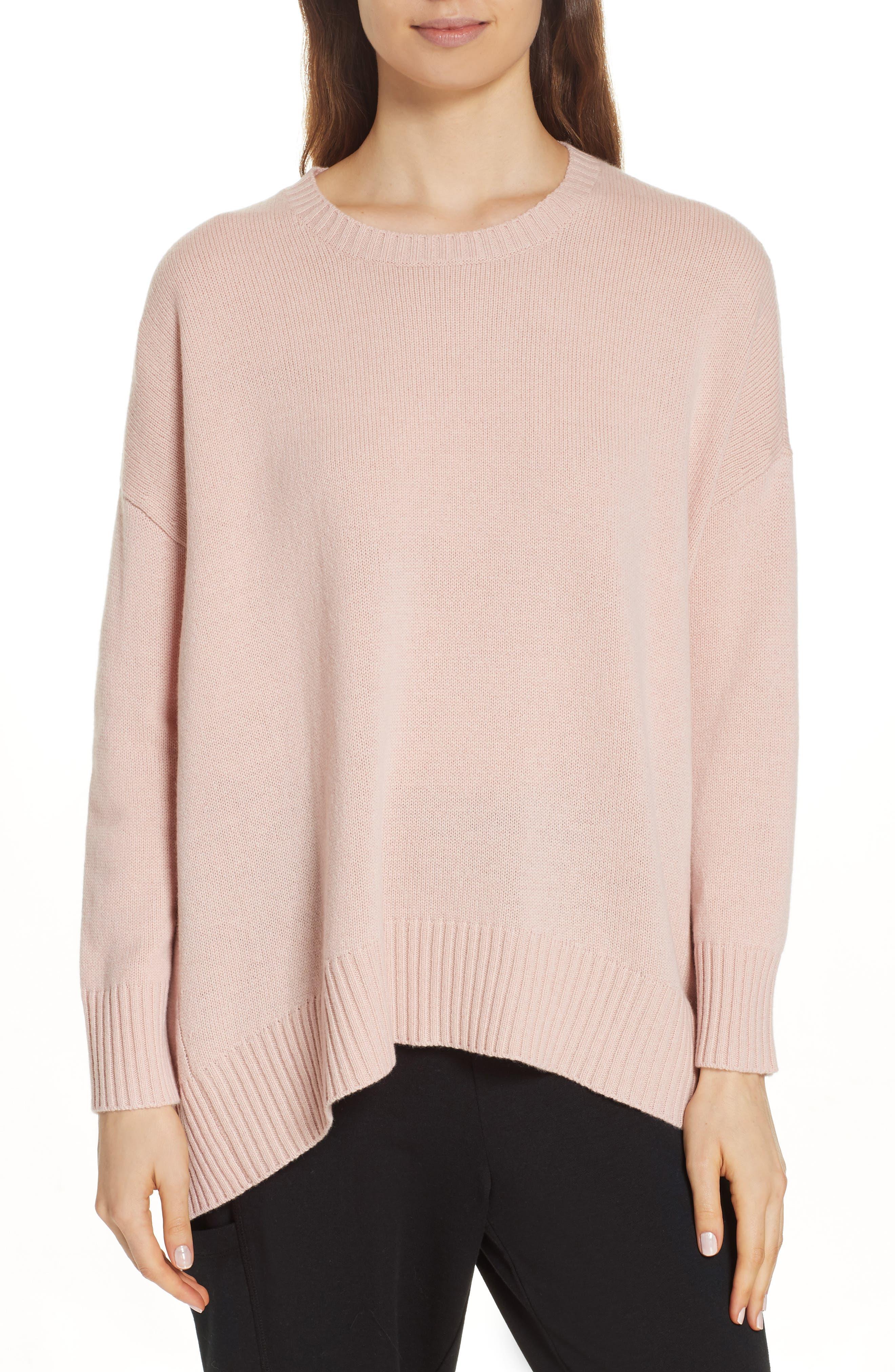 Eileen Fisher Cashmere & Wool Blend Oversize Sweater