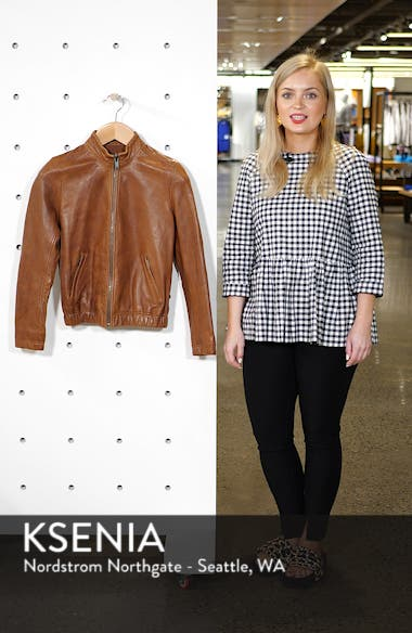 Ana Leather Jacket, sales video thumbnail
