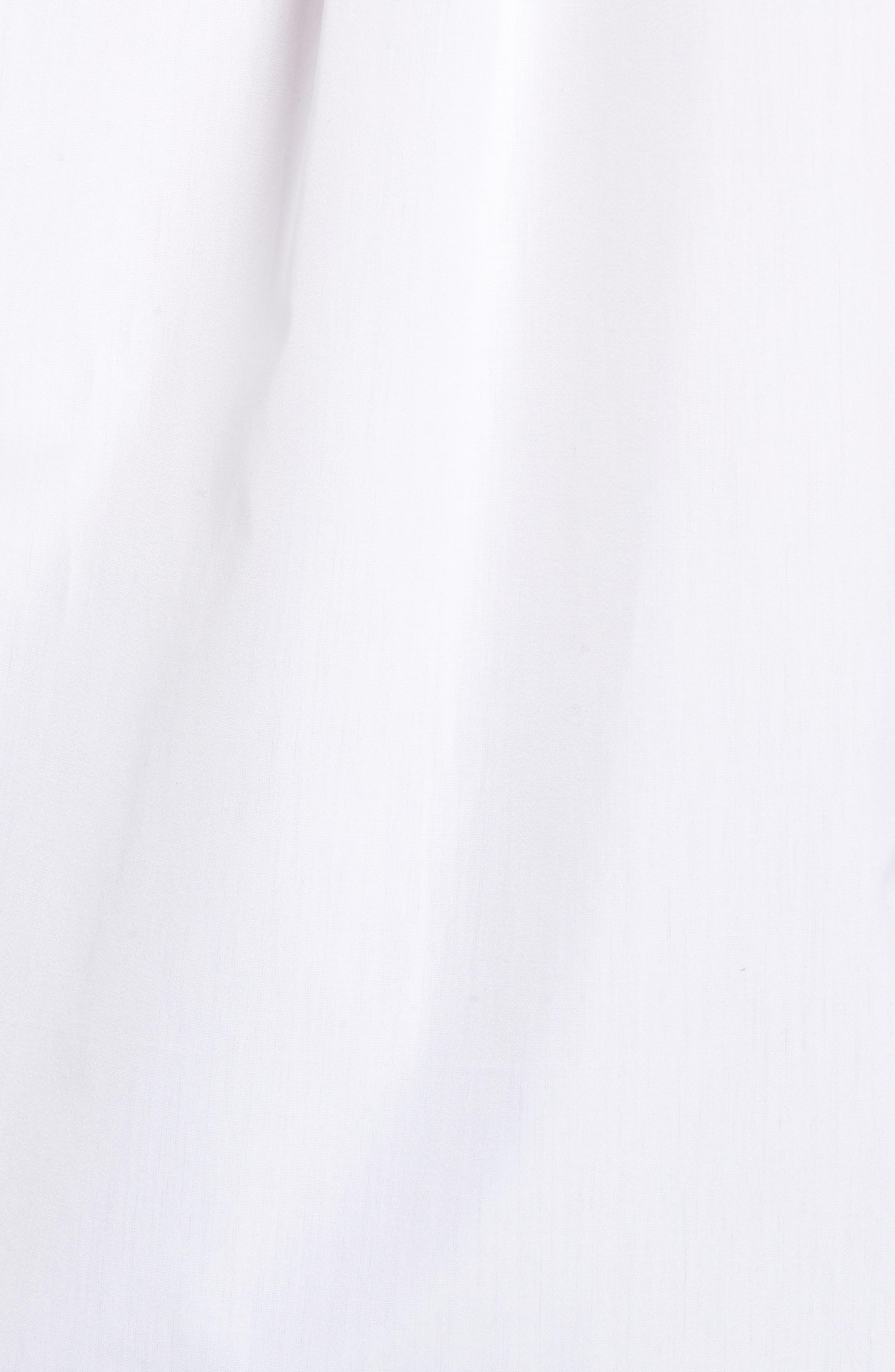 Poplin Shirt,                             Alternate thumbnail 5, color,                             WHITE