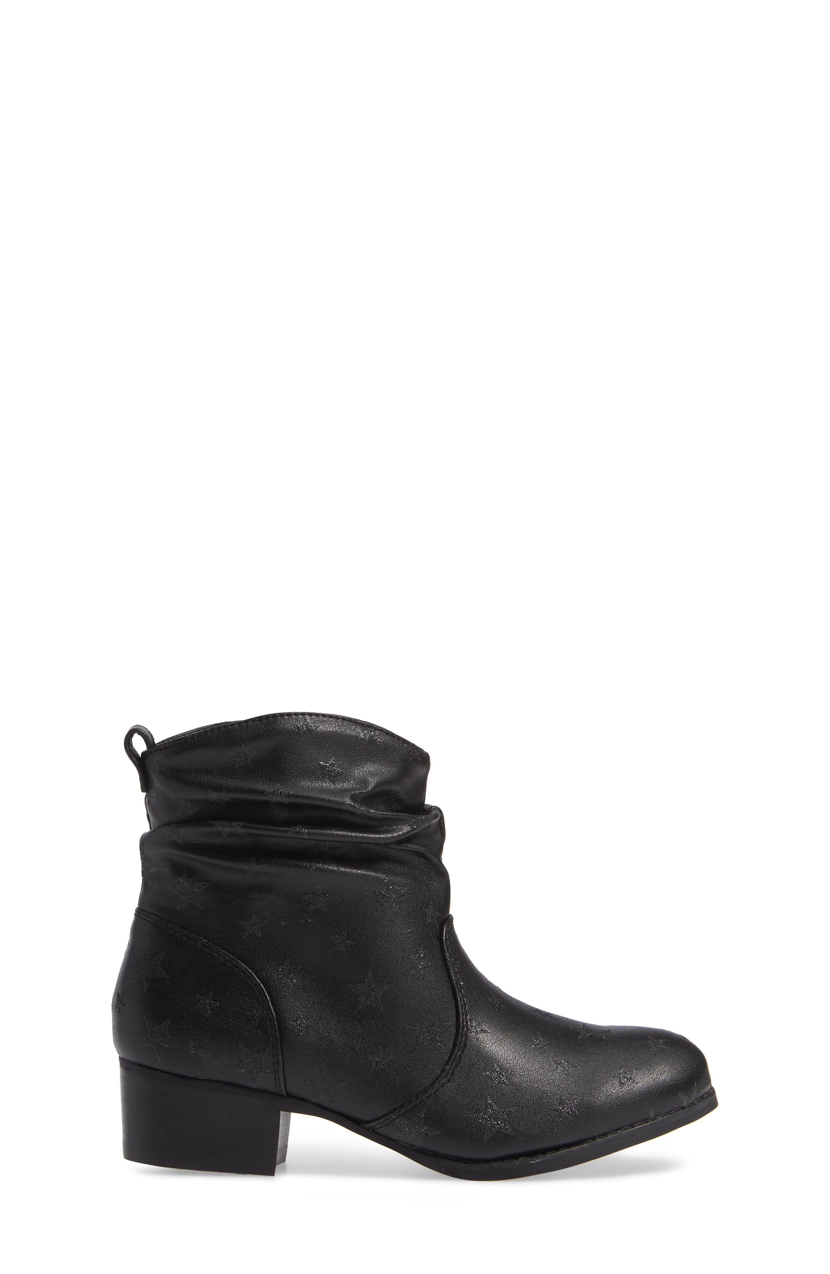 JCountry Slouch Bootie,                             Alternate thumbnail 3, color,                             BLACK