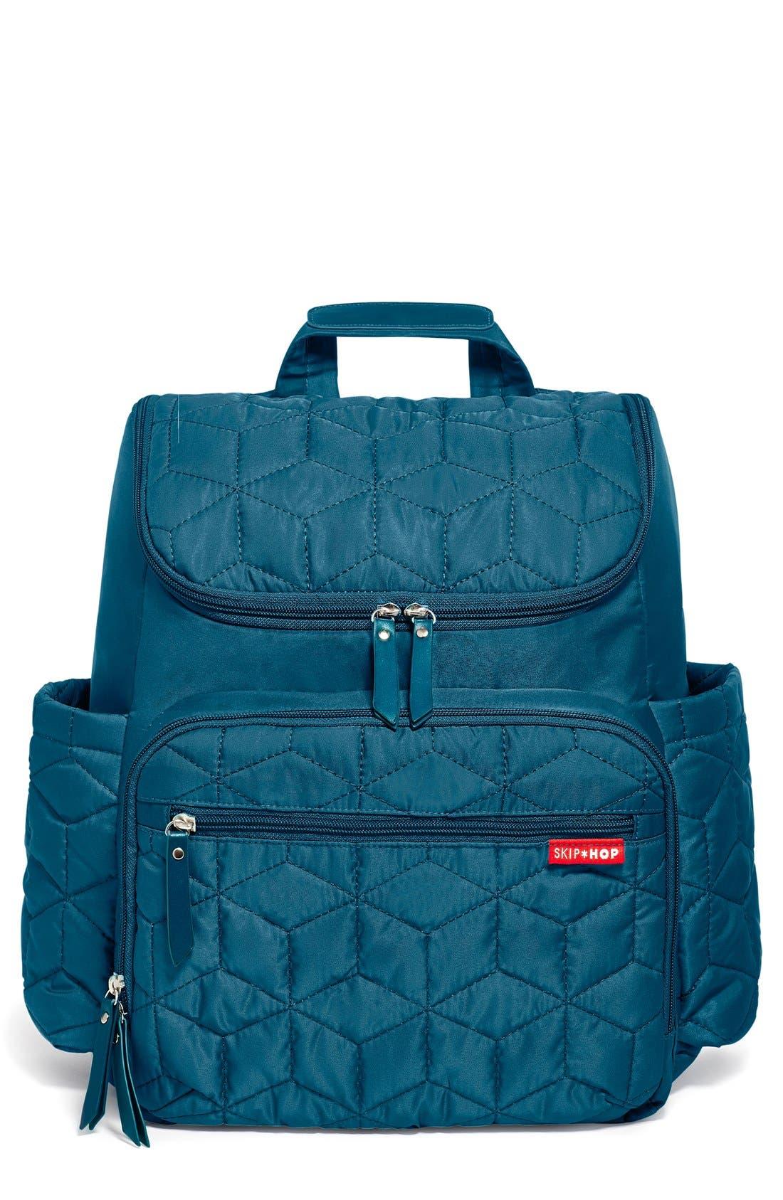 Infant Skip Hop Forma Diaper Backpack  Blue