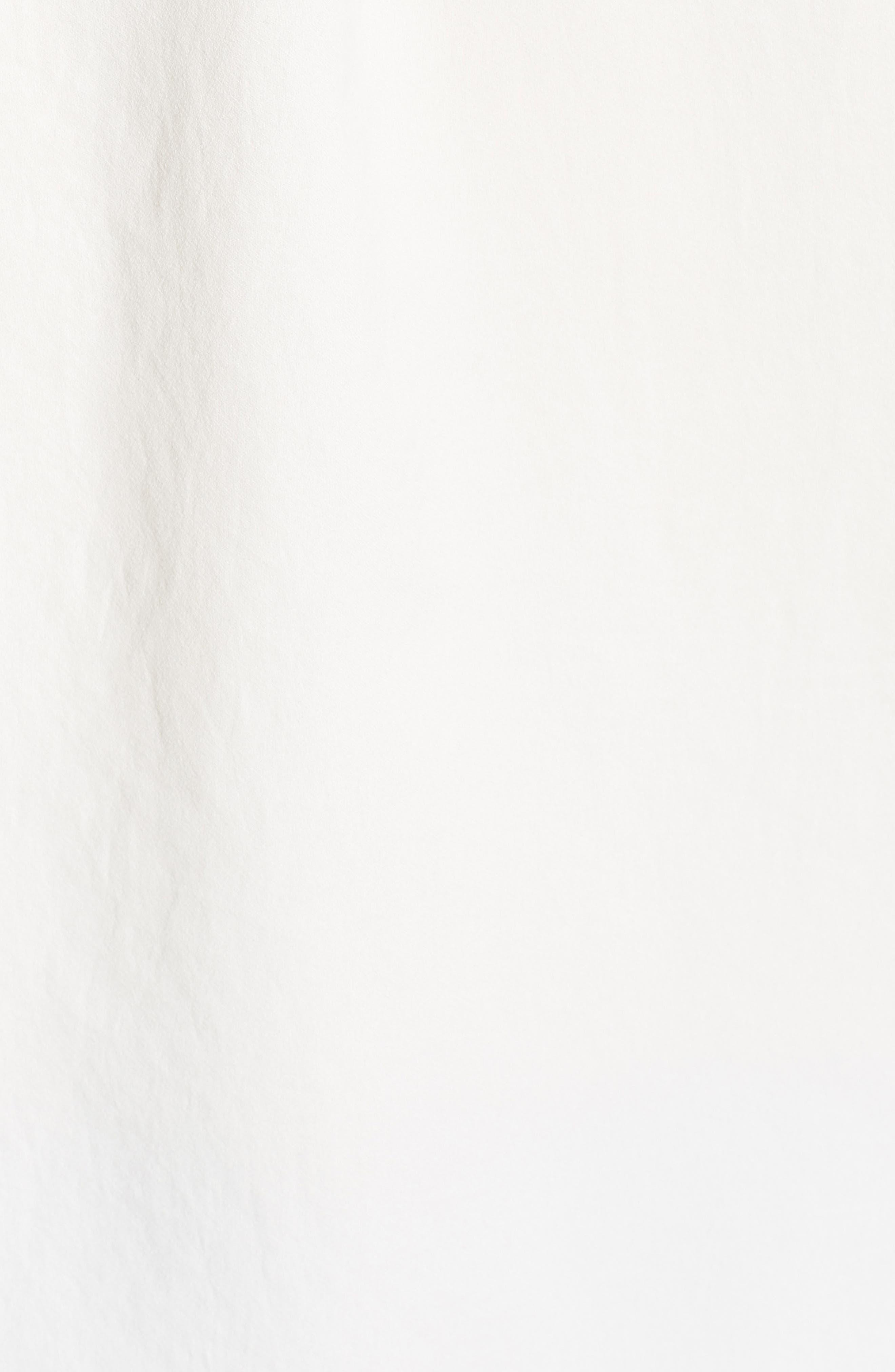 Cold Shoulder Top,                             Alternate thumbnail 5, color,                             SOFT WHITE