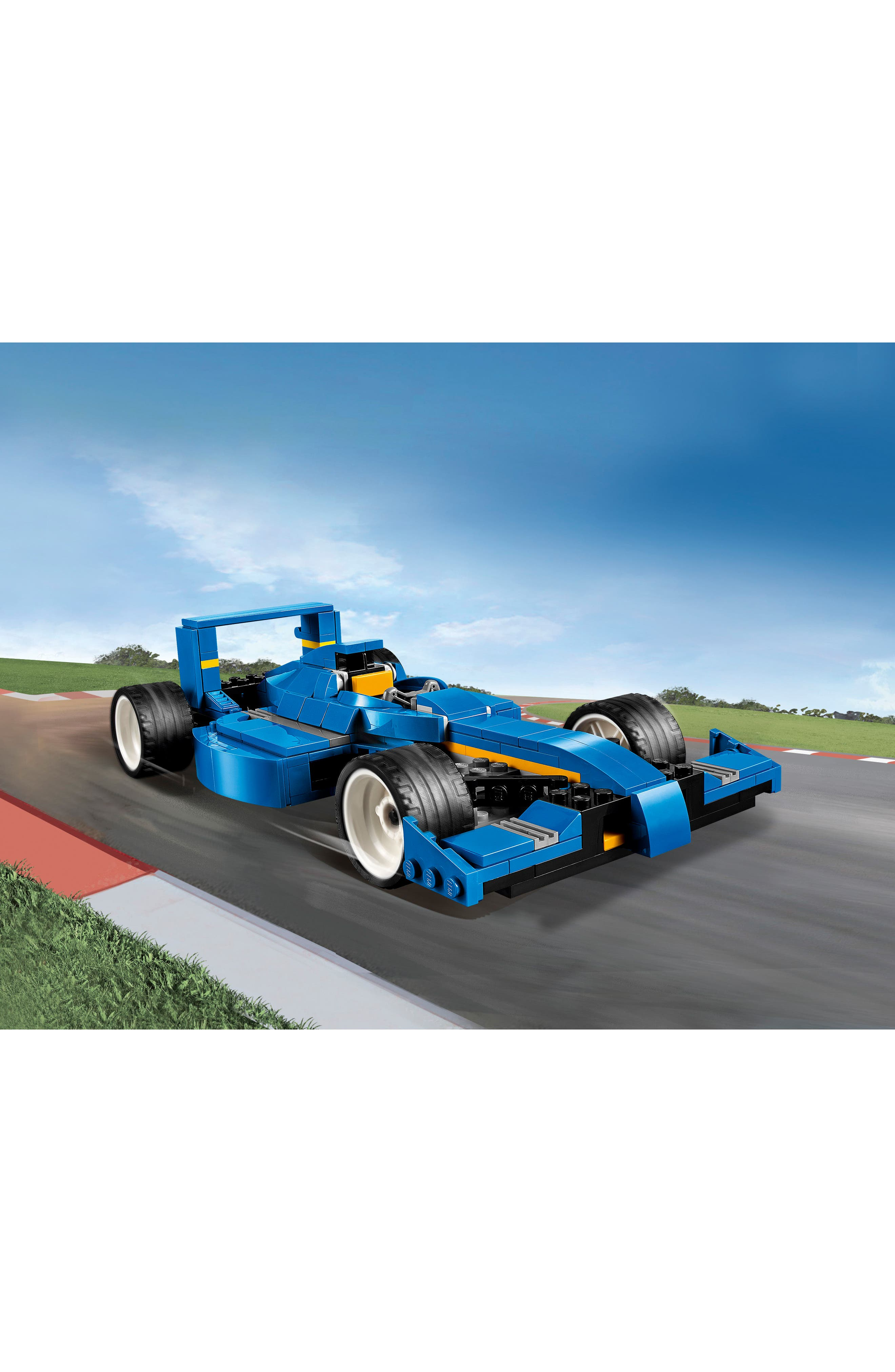 Creator 3-in-1 Turbo Track Racer - 31070,                             Alternate thumbnail 2, color,                             400