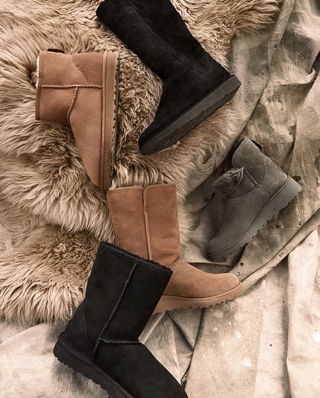 UGG gifts for everyone: from UGG slippers to UGG boots.