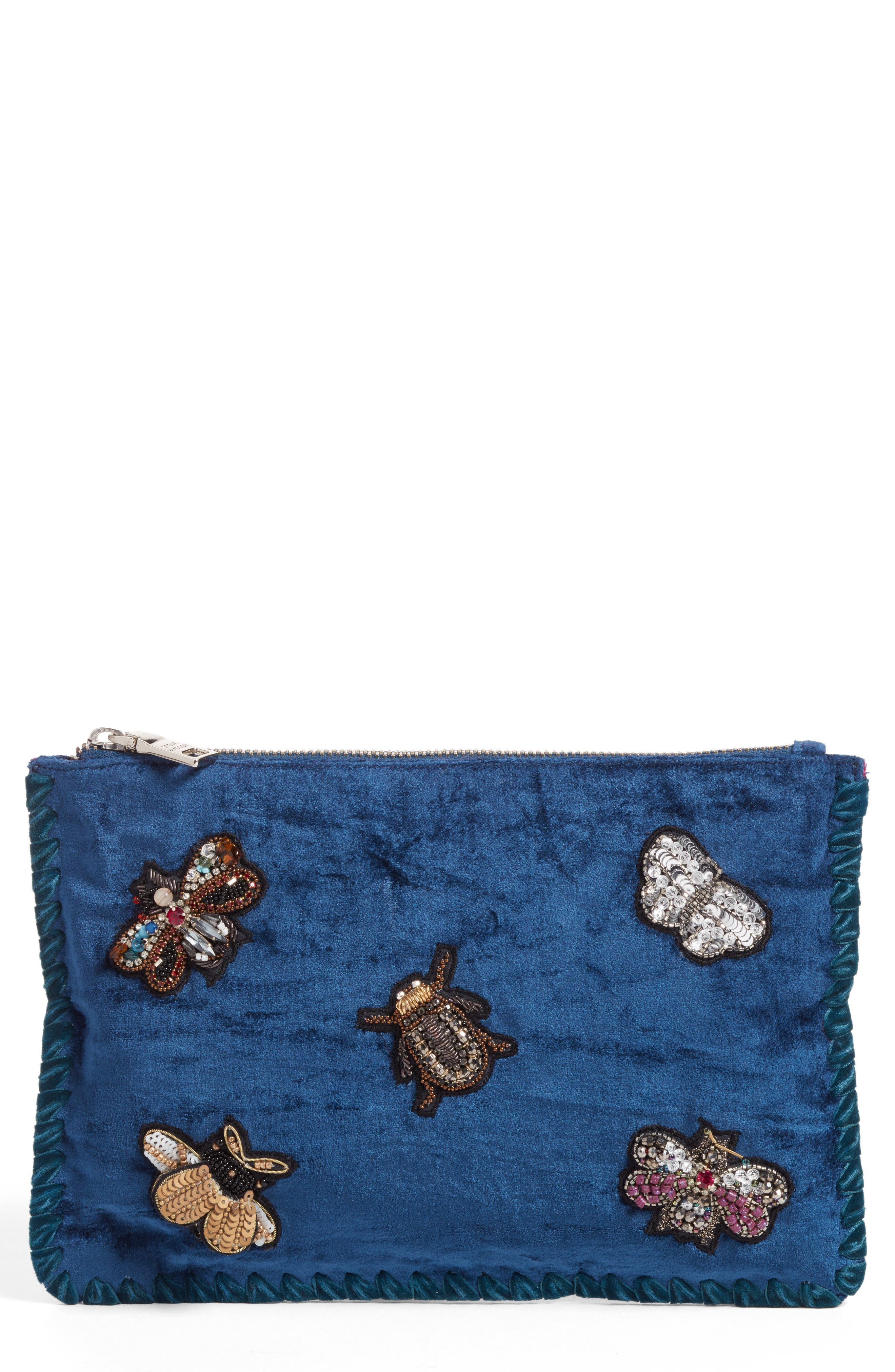 Embellished Clutch,                         Main,                         color,