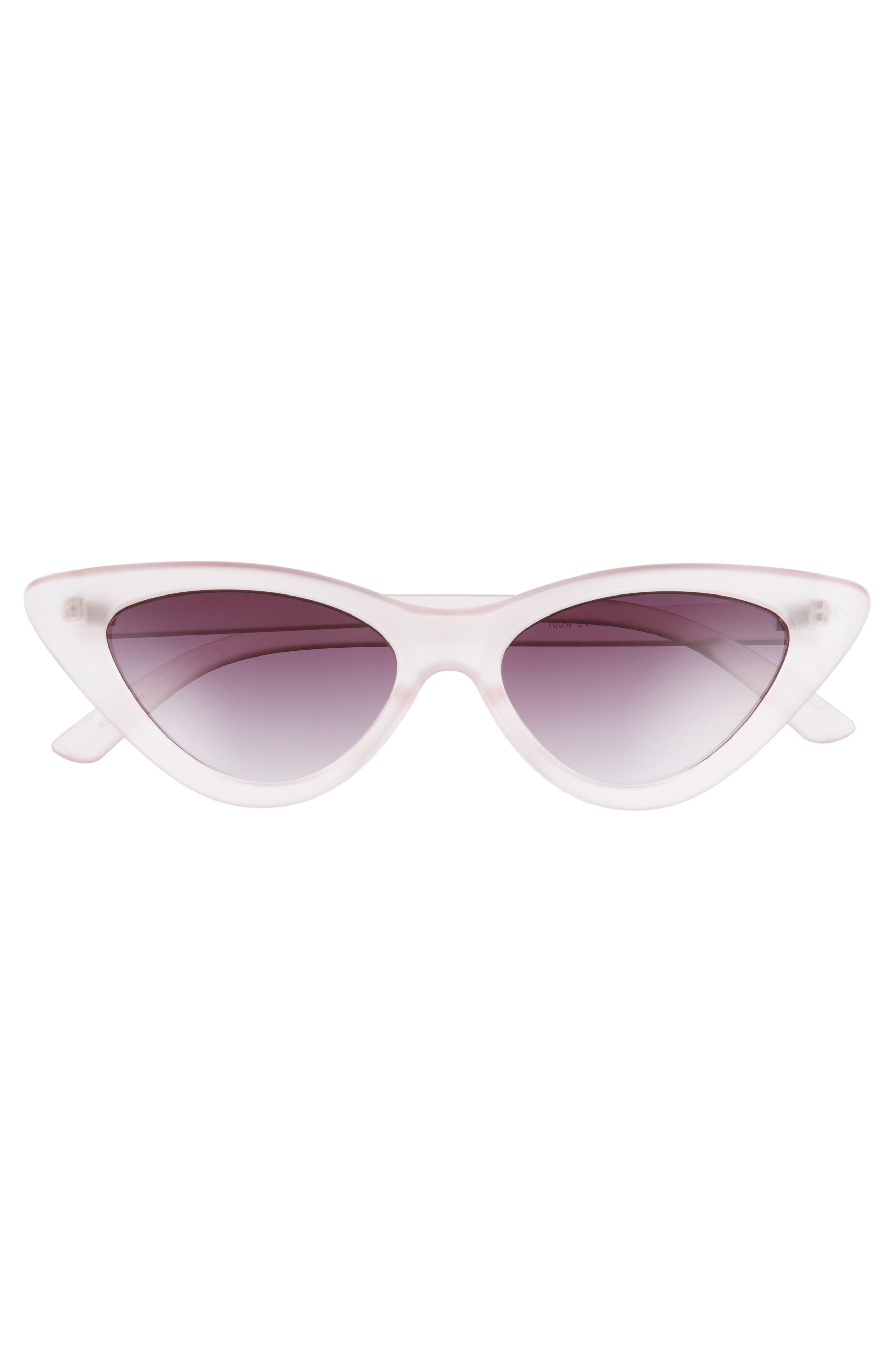 62mm Cat Eye Sunglasses,                             Alternate thumbnail 9, color,