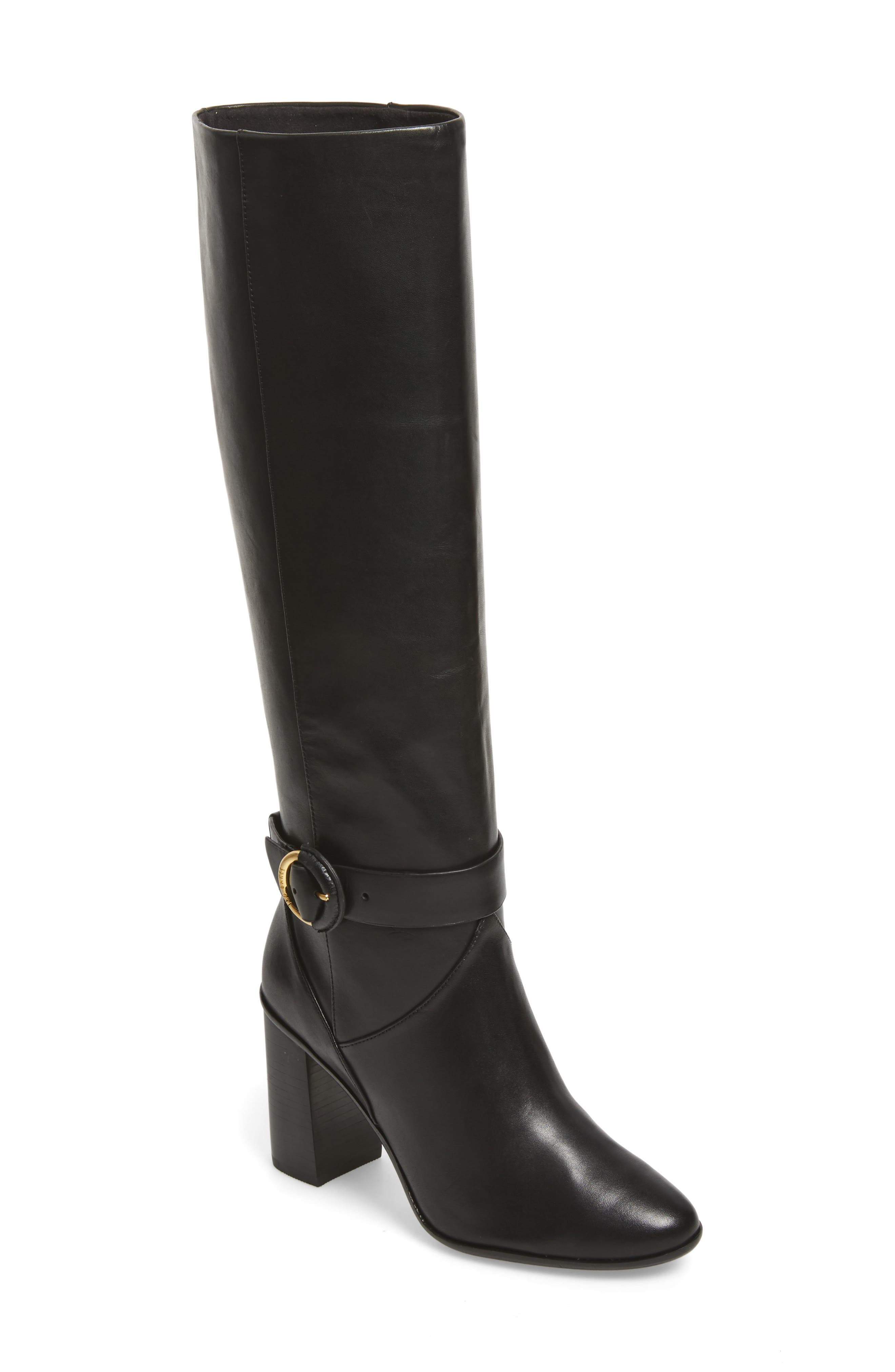 Alrami Knee High Boot,                         Main,                         color, 001