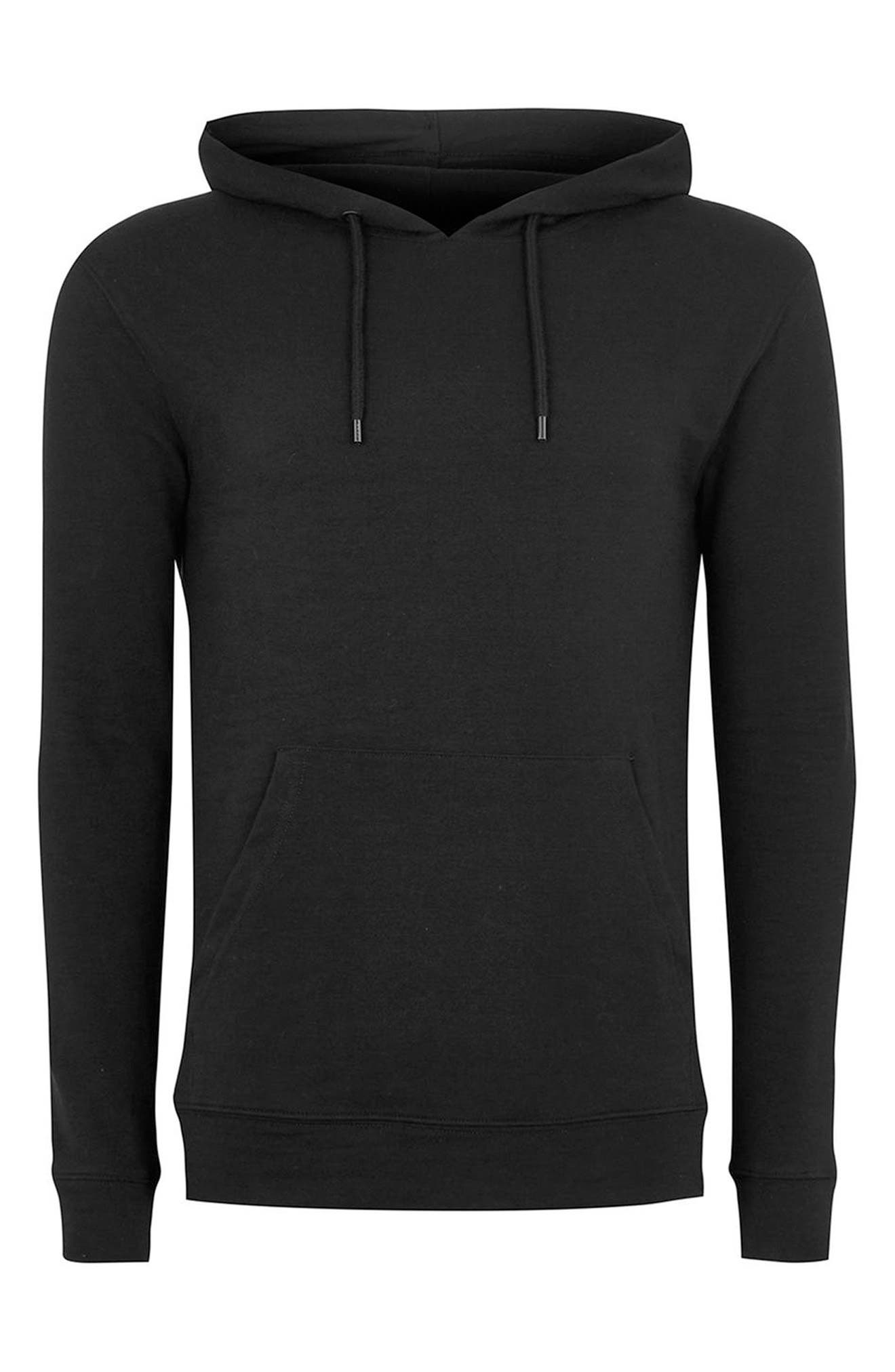 Ultra Muscle Fit Hoodie,                             Alternate thumbnail 4, color,                             001