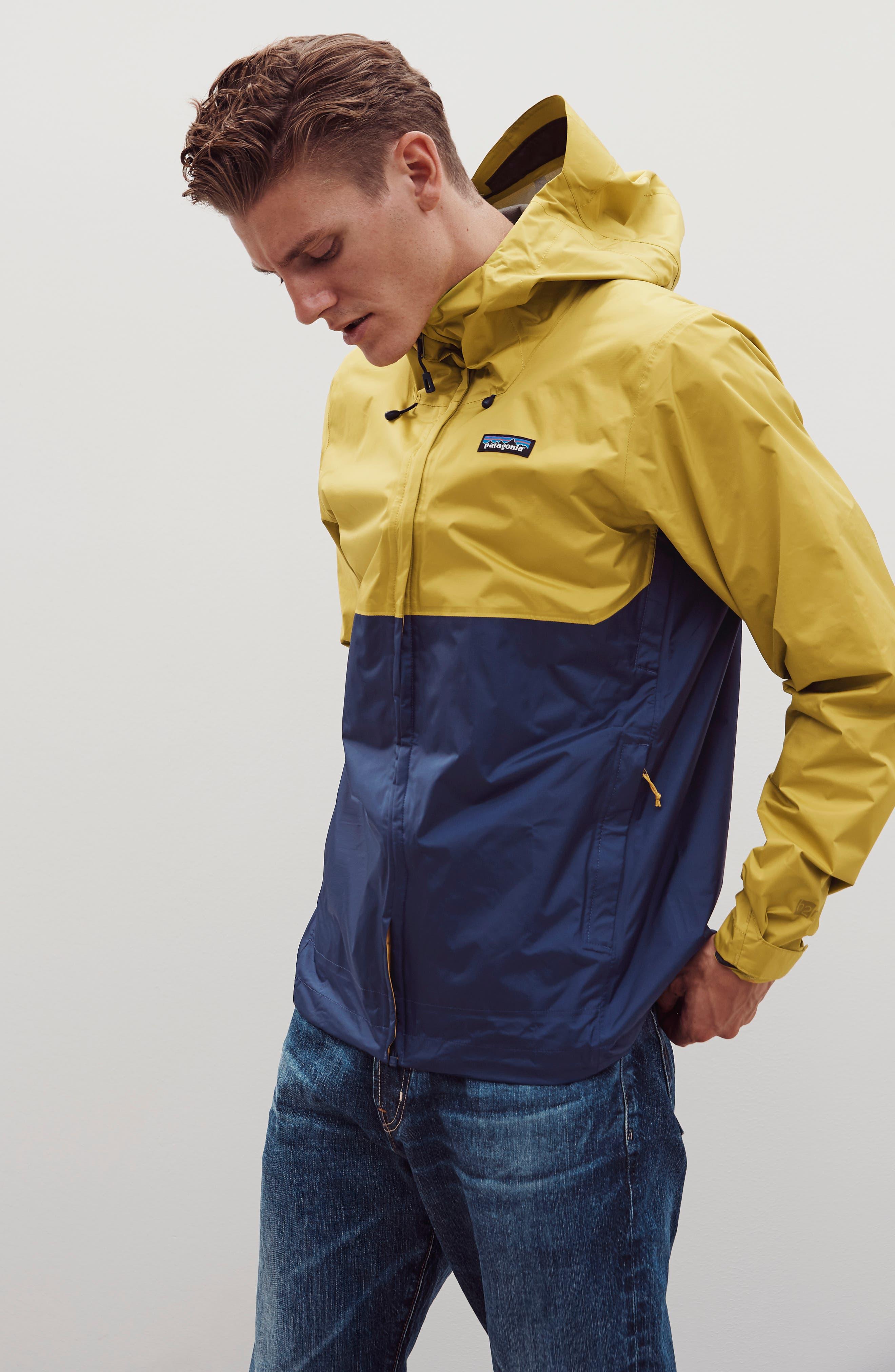 Torrentshell Packable Rain Jacket,                             Alternate thumbnail 8, color,                             BLACK