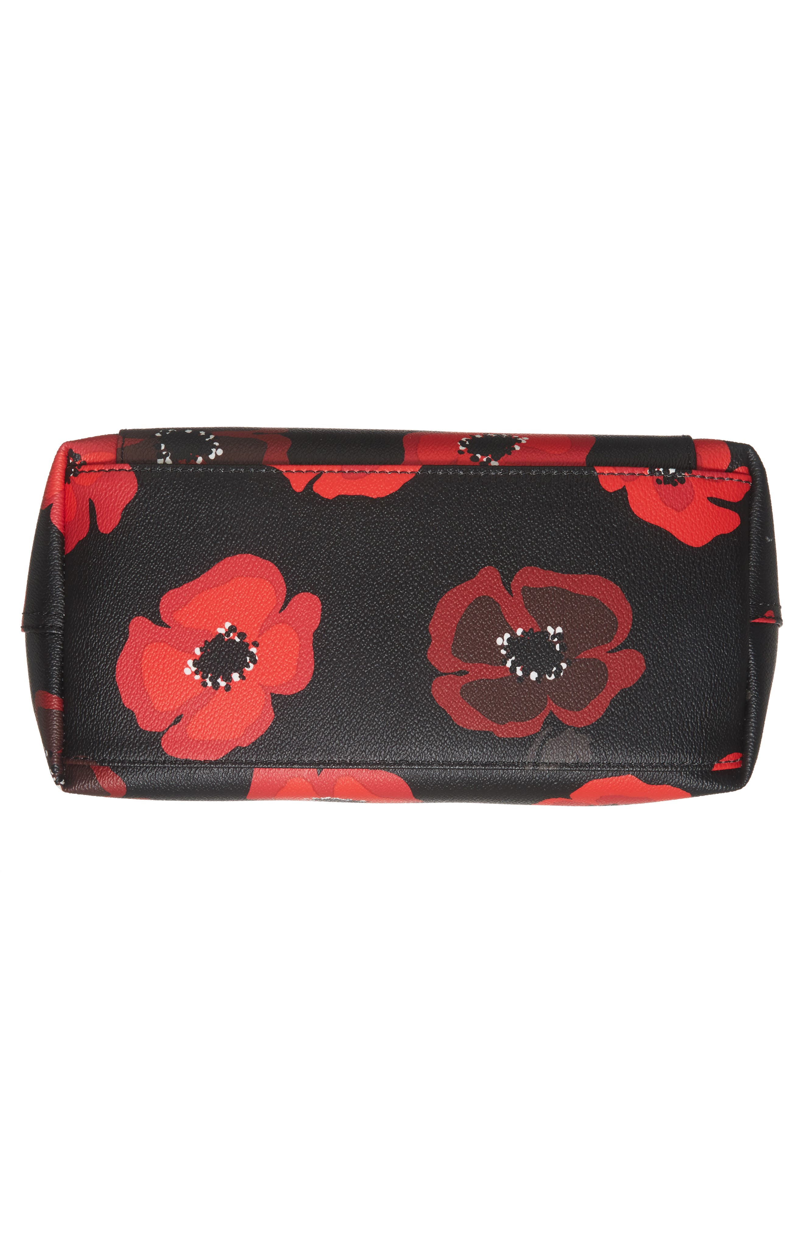 hyde lane poppies - small riley tote,                             Alternate thumbnail 6, color,                             001