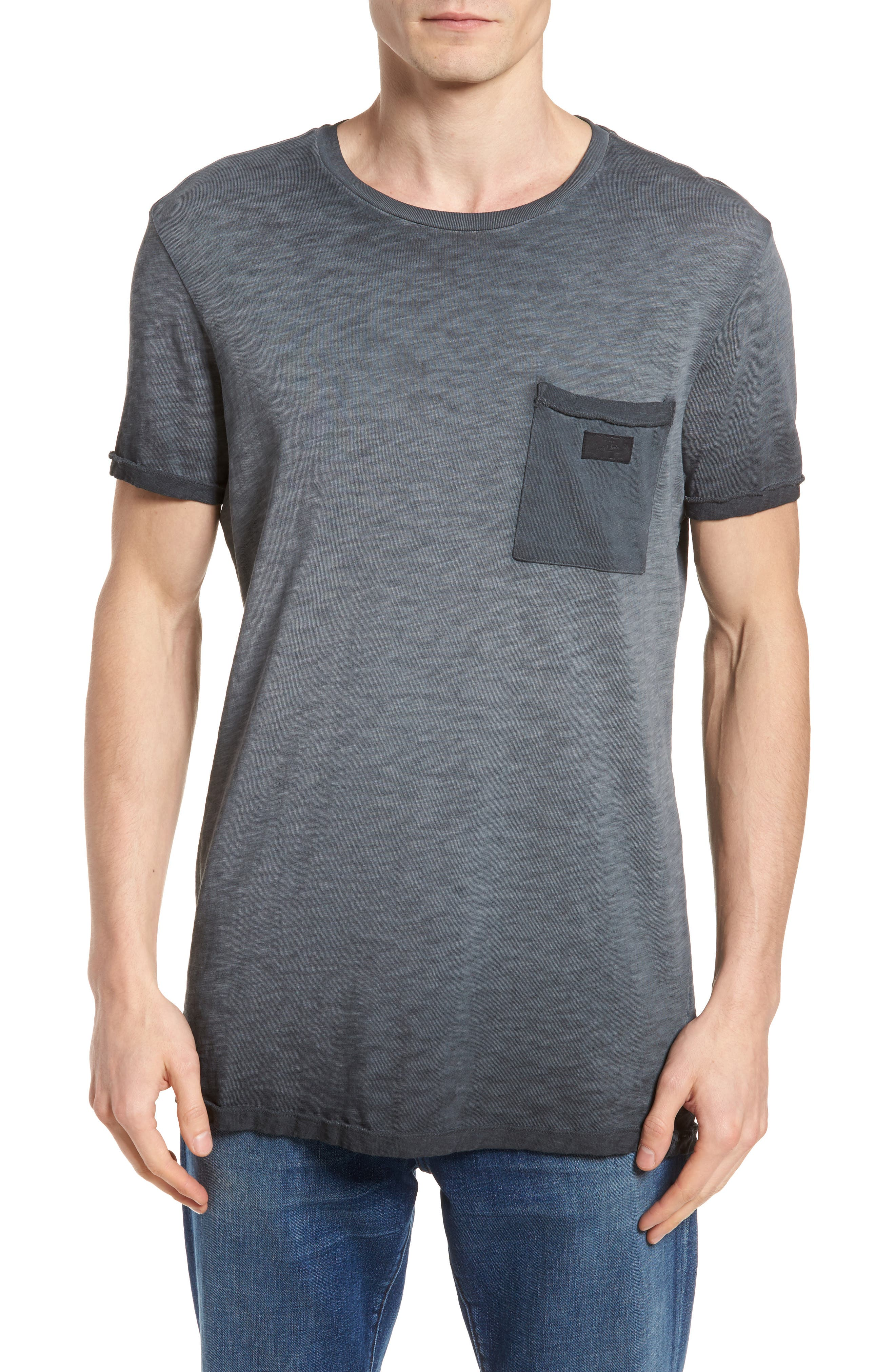 Oil Washed T-Shirt,                         Main,                         color,