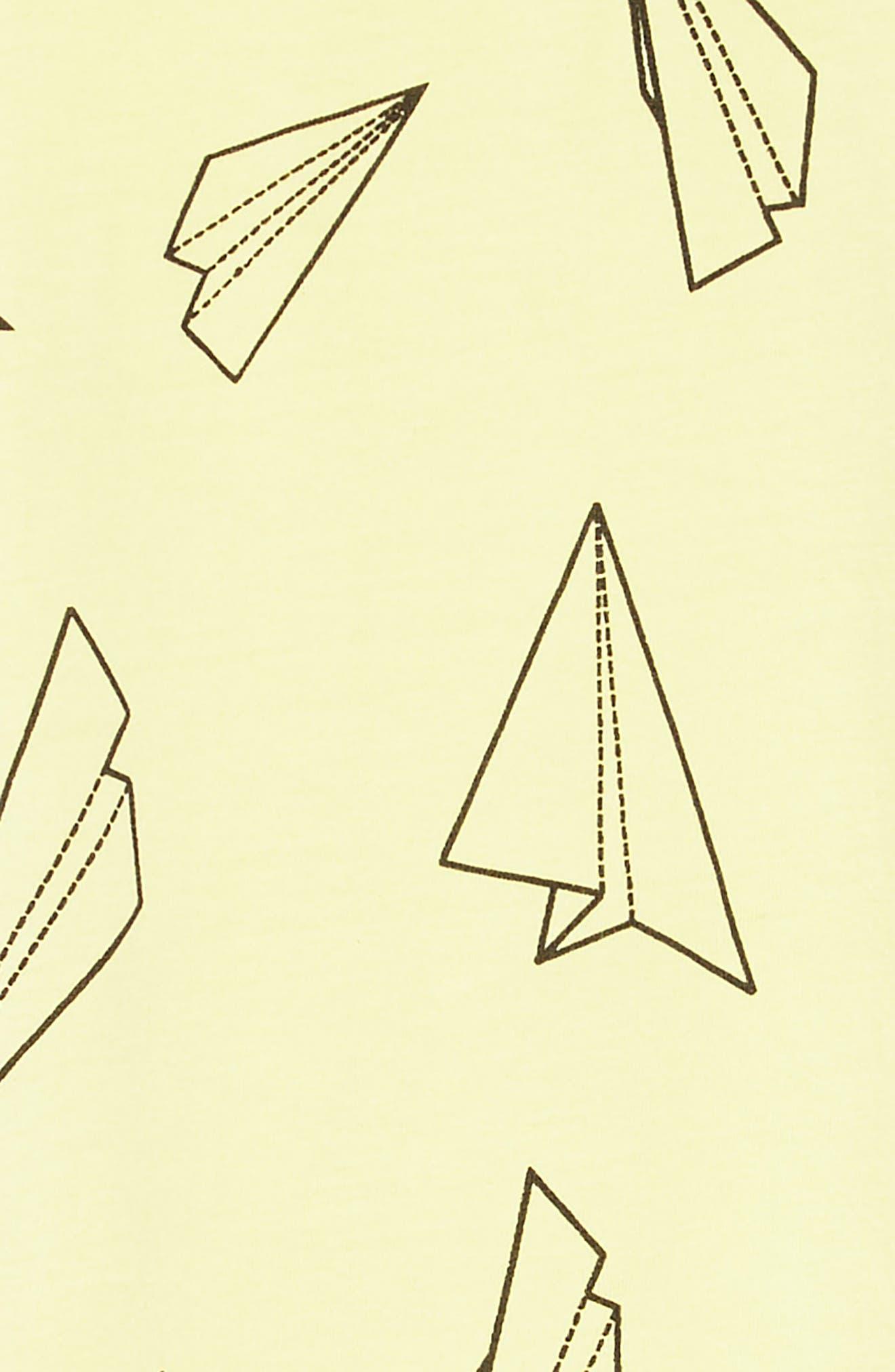 Print Swoop Dress,                             Alternate thumbnail 3, color,                             330