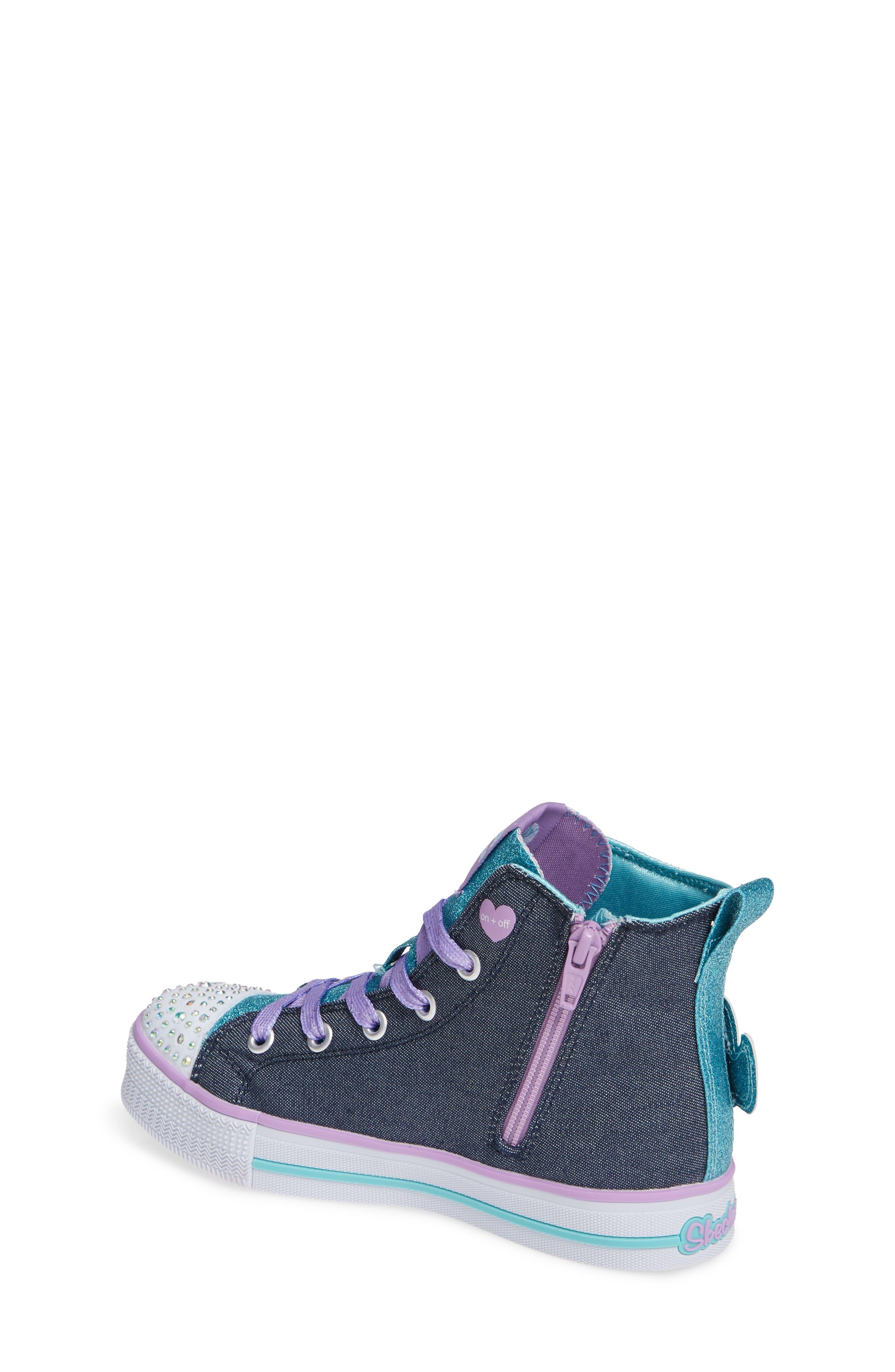 Twinkle Lite Glitter Sneaker,                             Alternate thumbnail 2, color,                             468