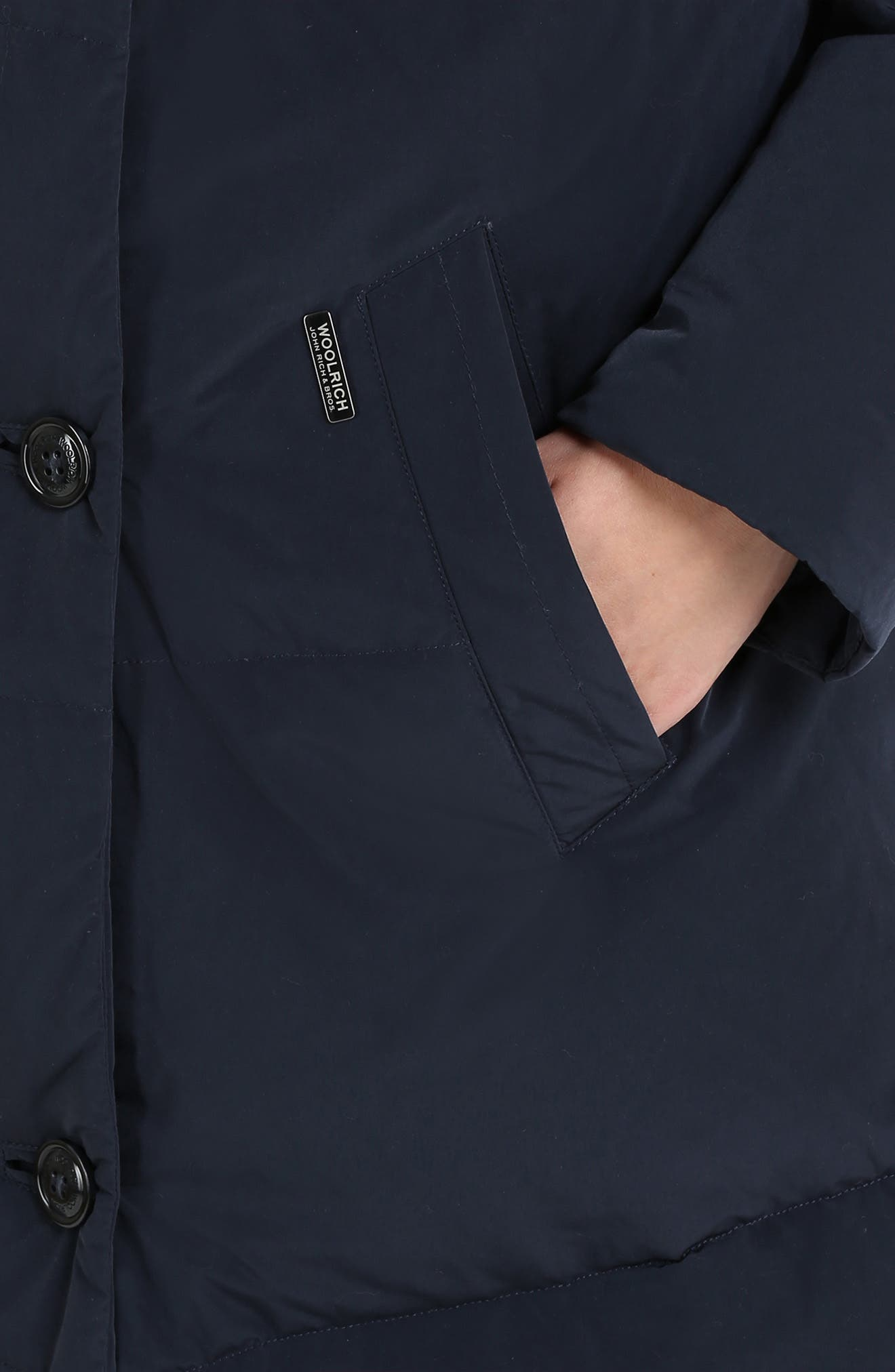 WOOLRICH,                             Puffy Down Coat,                             Alternate thumbnail 3, color,                             400