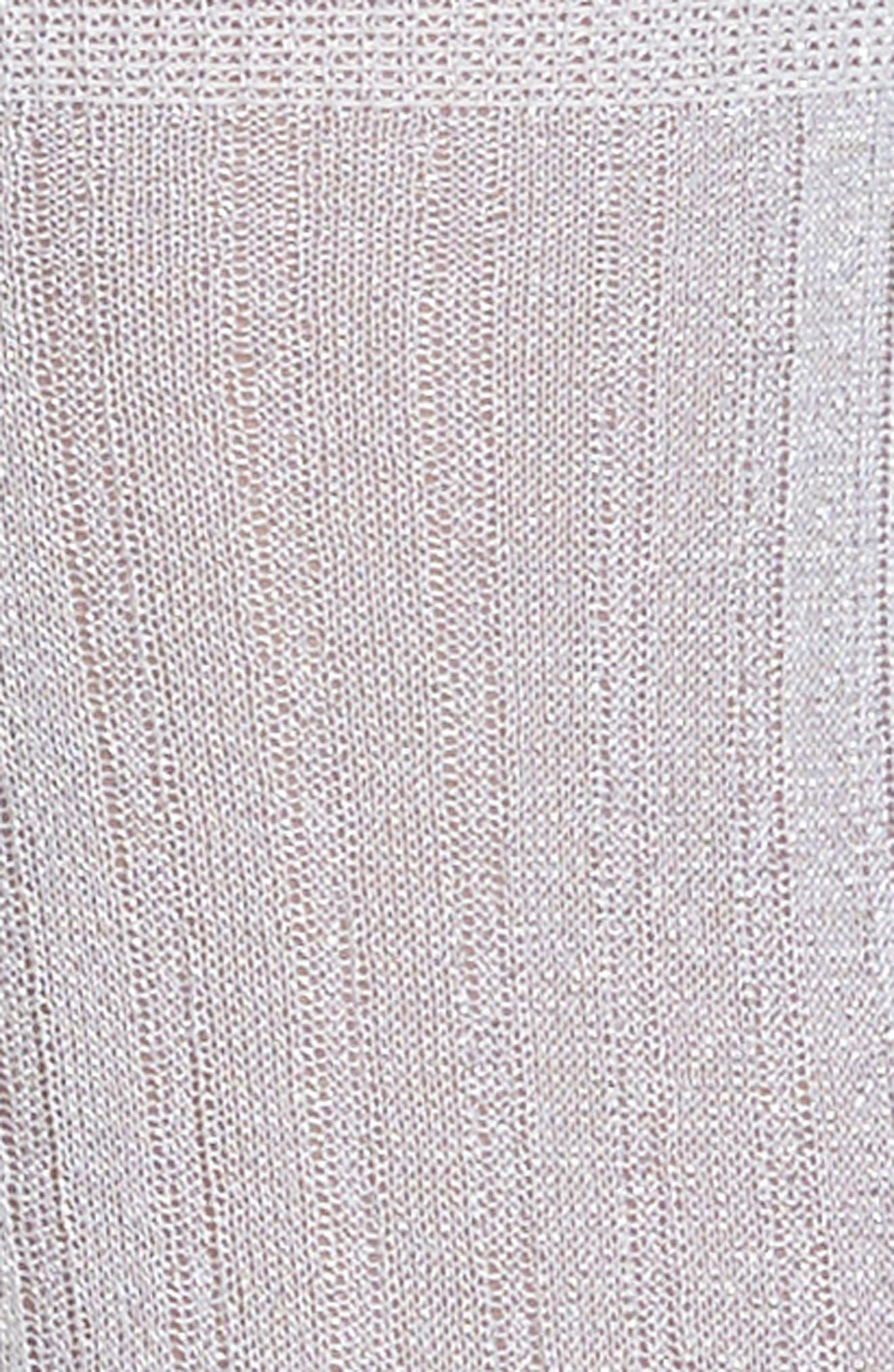 Costina Metallic Ankle Socks,                             Alternate thumbnail 3, color,                             040