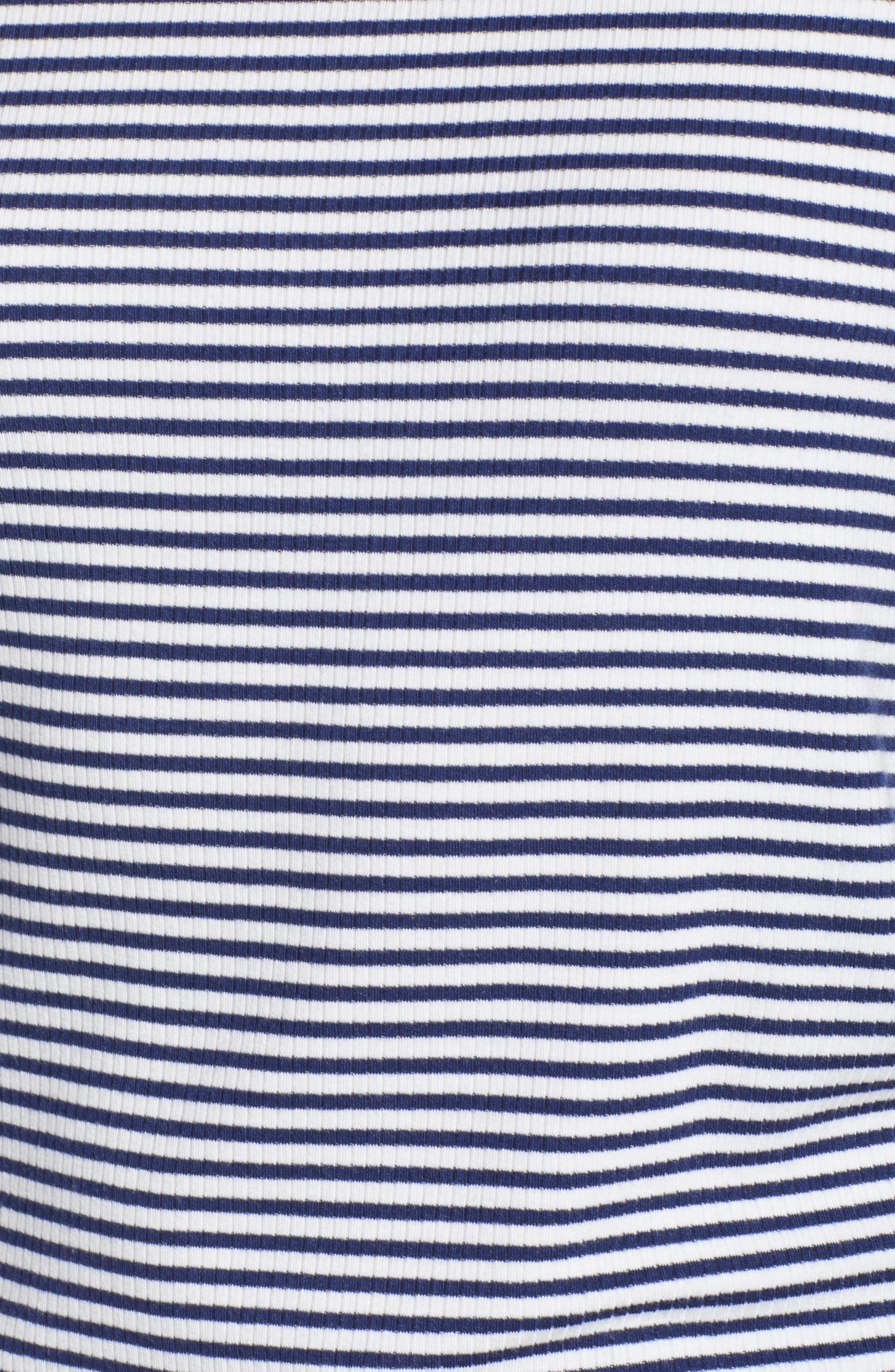 Ruffle Sleeve Rib Knit Top,                             Alternate thumbnail 11, color,