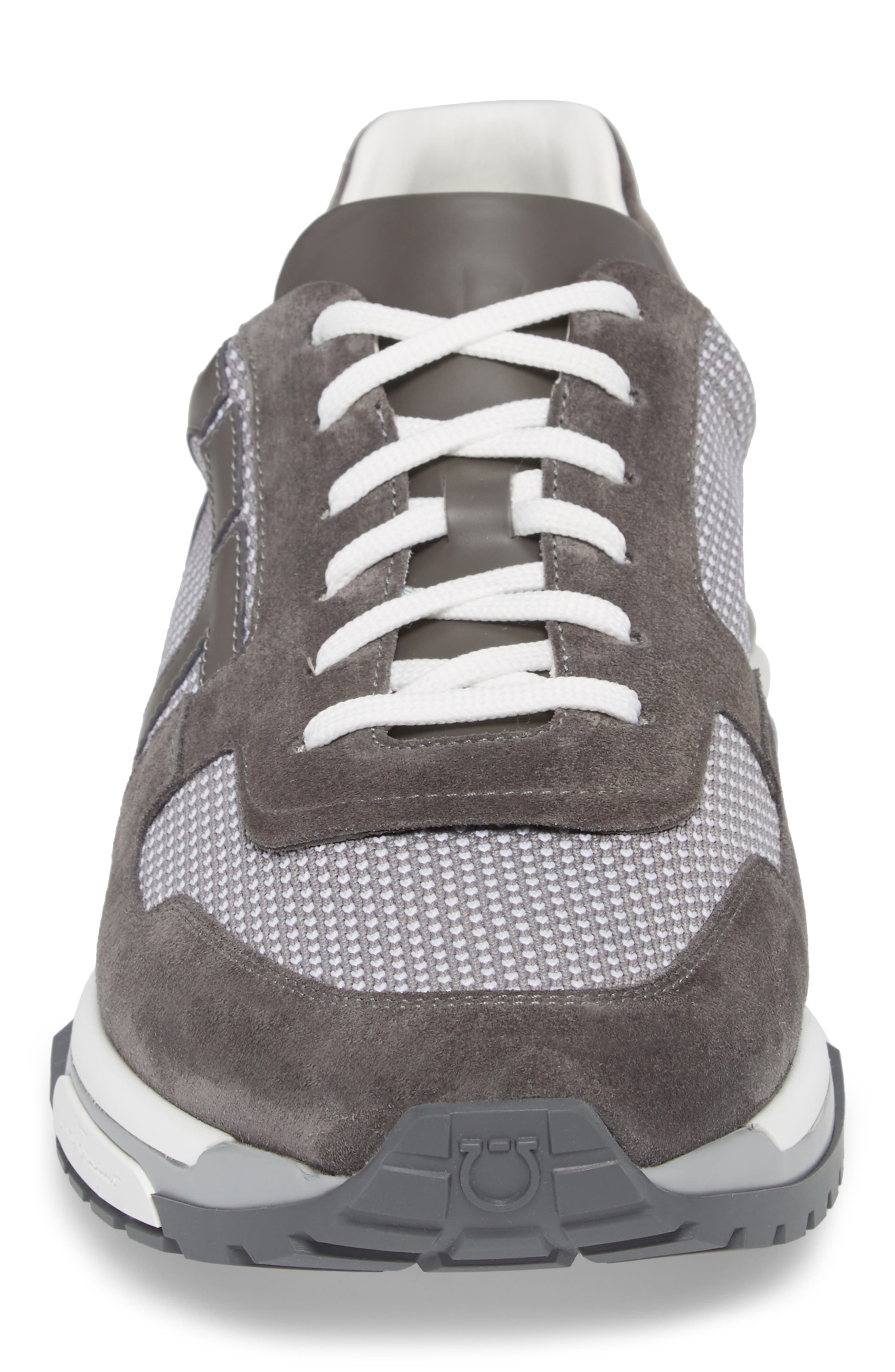 Brooklyn 2 Woven Sneaker,                             Alternate thumbnail 4, color,                             GREY